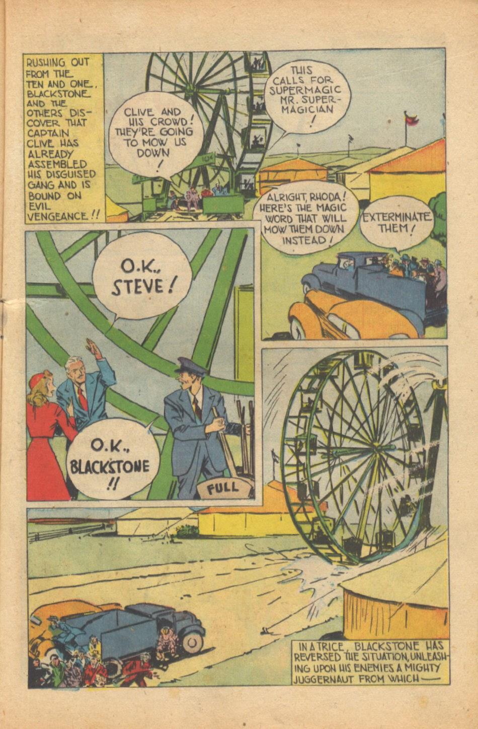 Read online Super-Magician Comics comic -  Issue #37 - 14