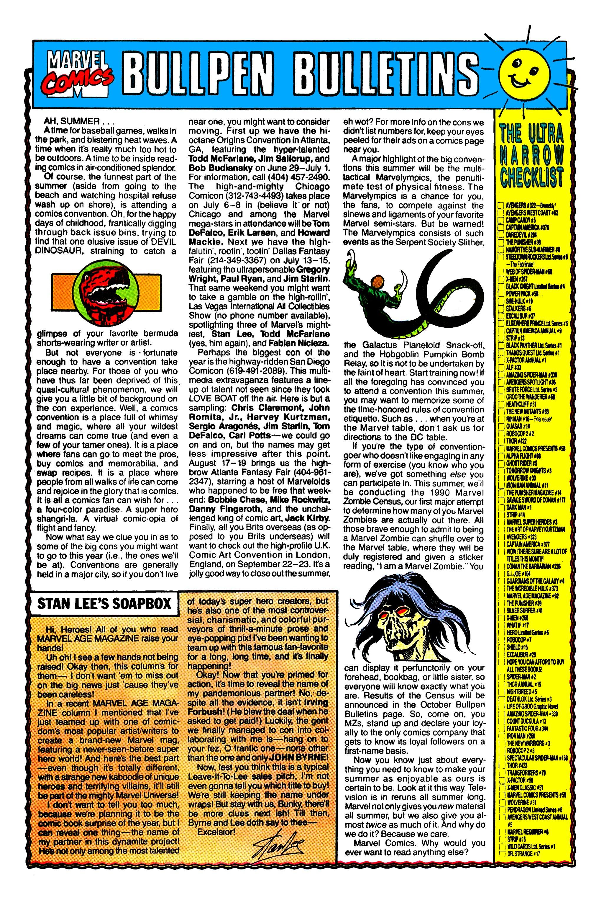 Read online Uncanny X-Men (1963) comic -  Issue #268 - 19