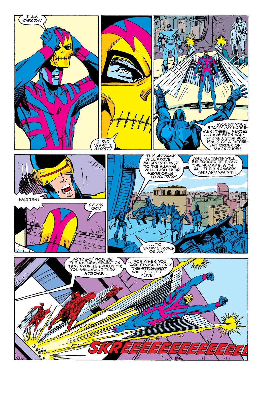 Read online X-Men Milestones: Fall of the Mutants comic -  Issue # TPB (Part 3) - 1