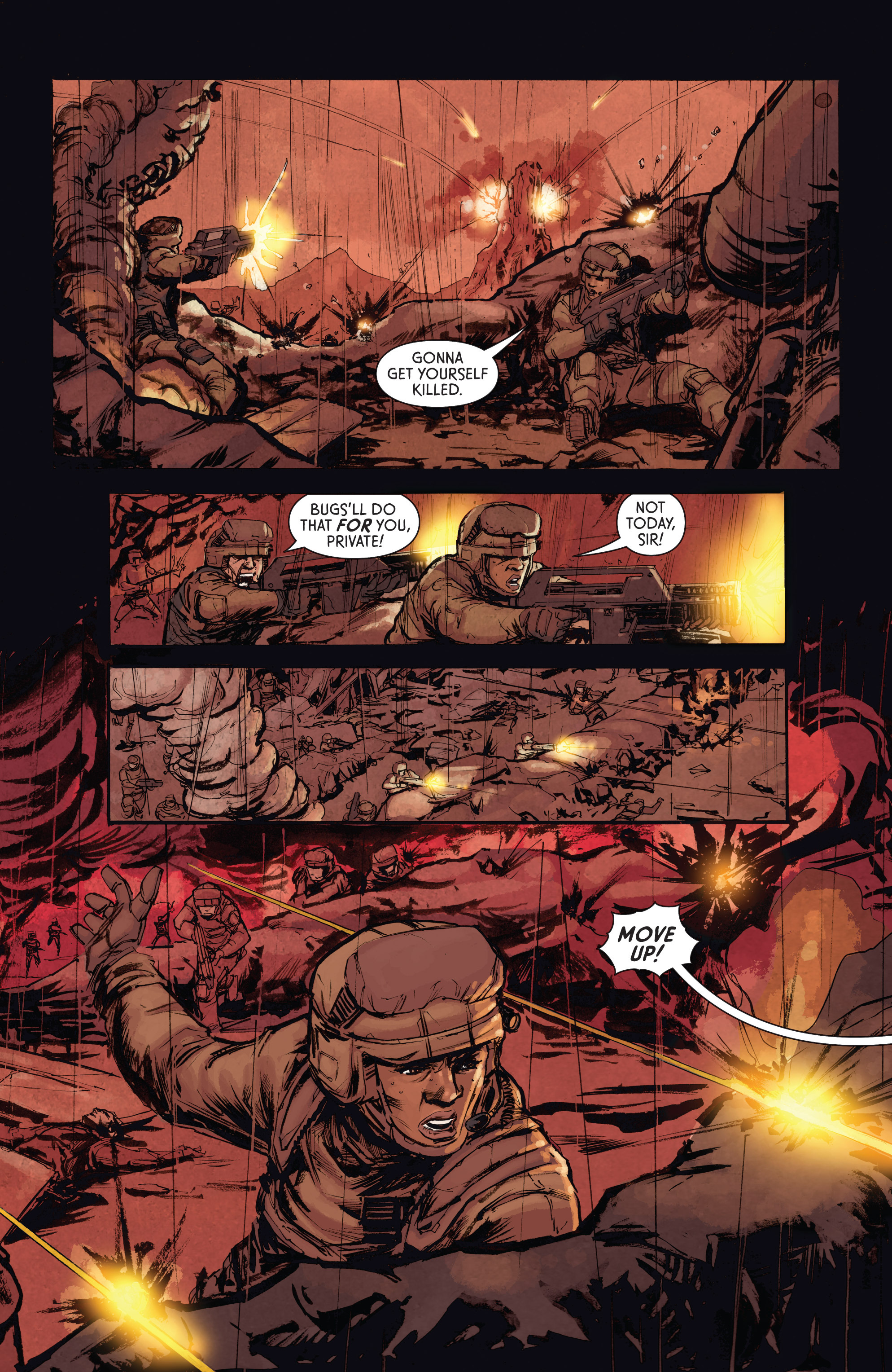 Read online Aliens: Defiance comic -  Issue #4 - 10