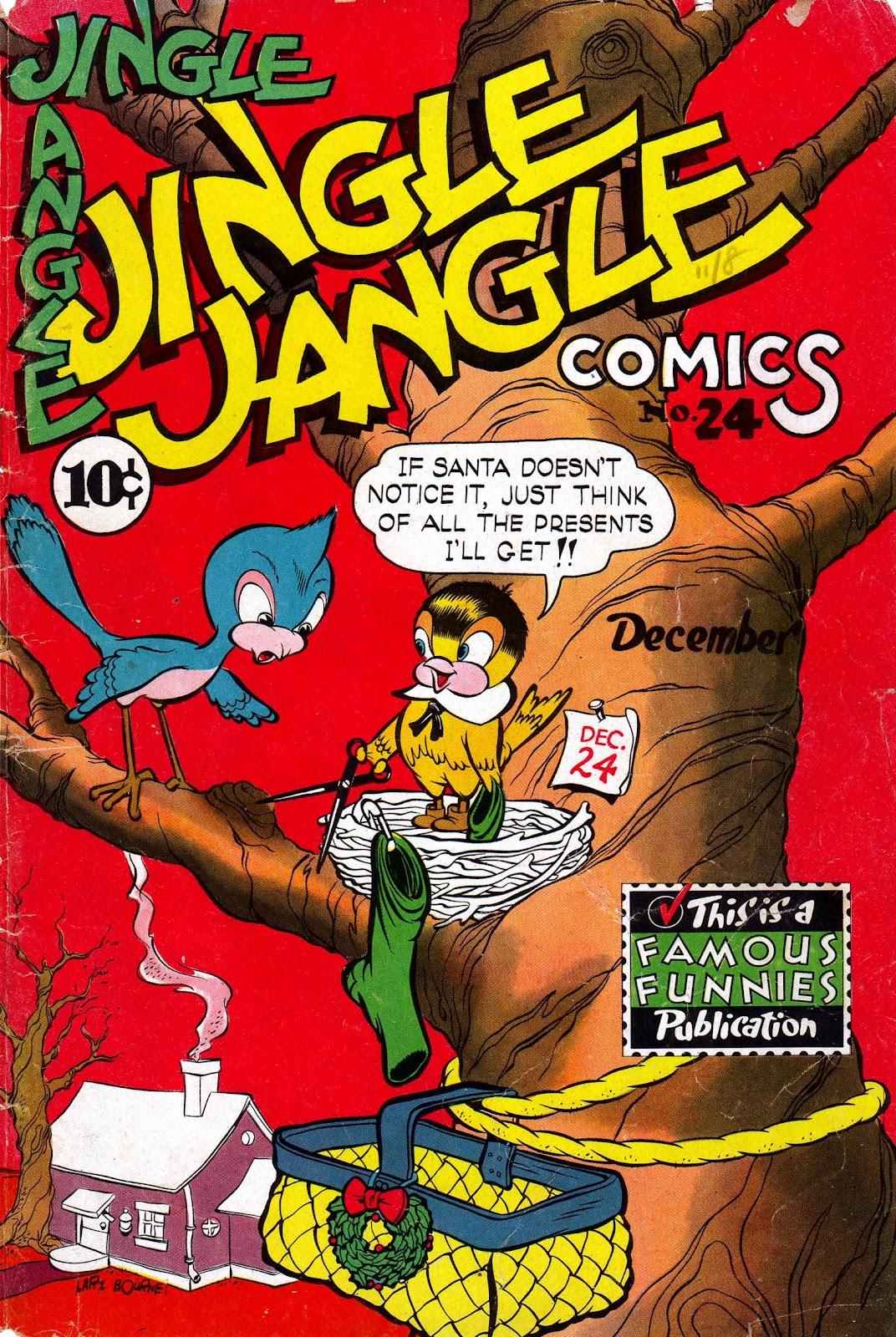 Jingle Jangle Comics 24 Page 1
