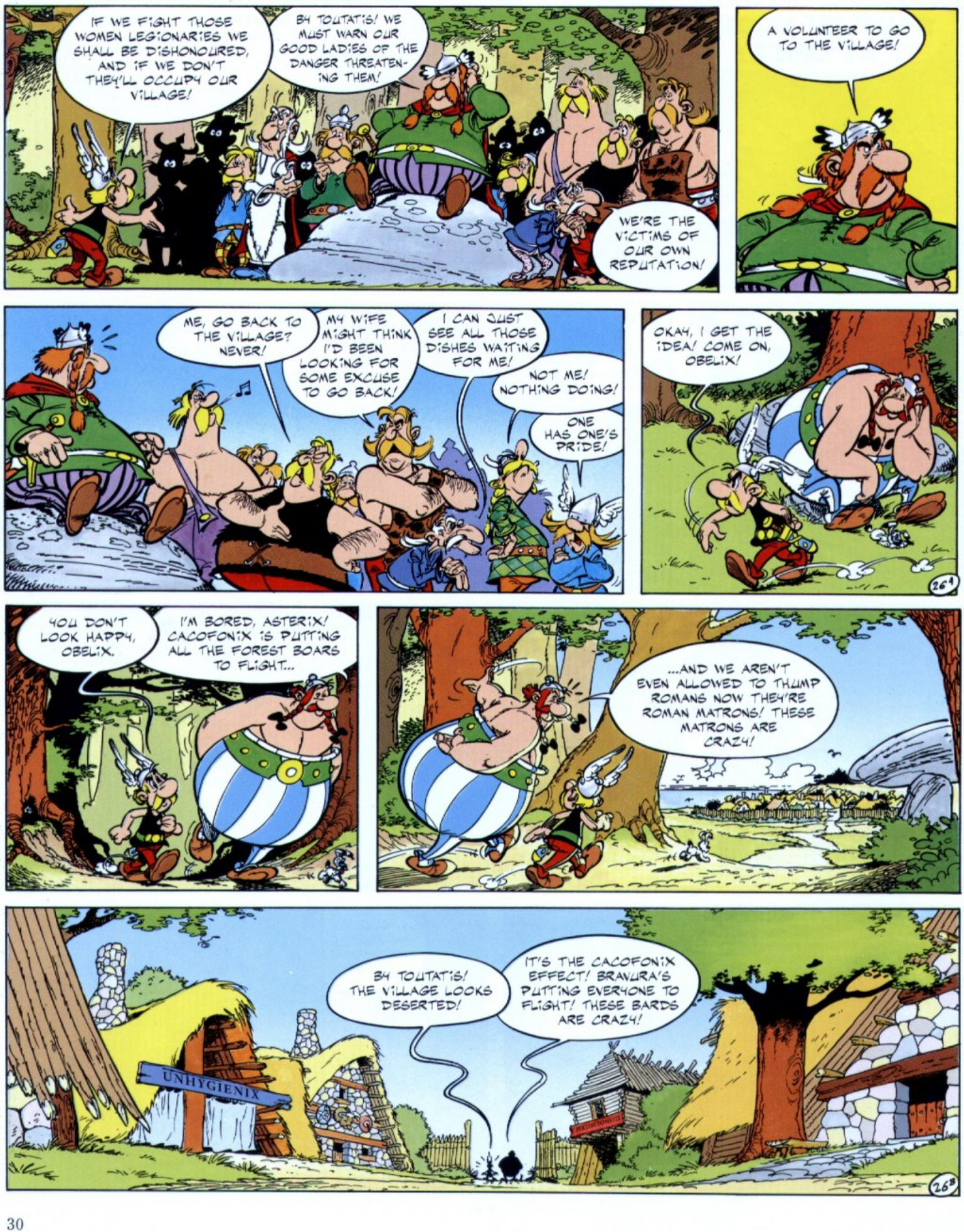 Read online Asterix comic -  Issue #29 - 28