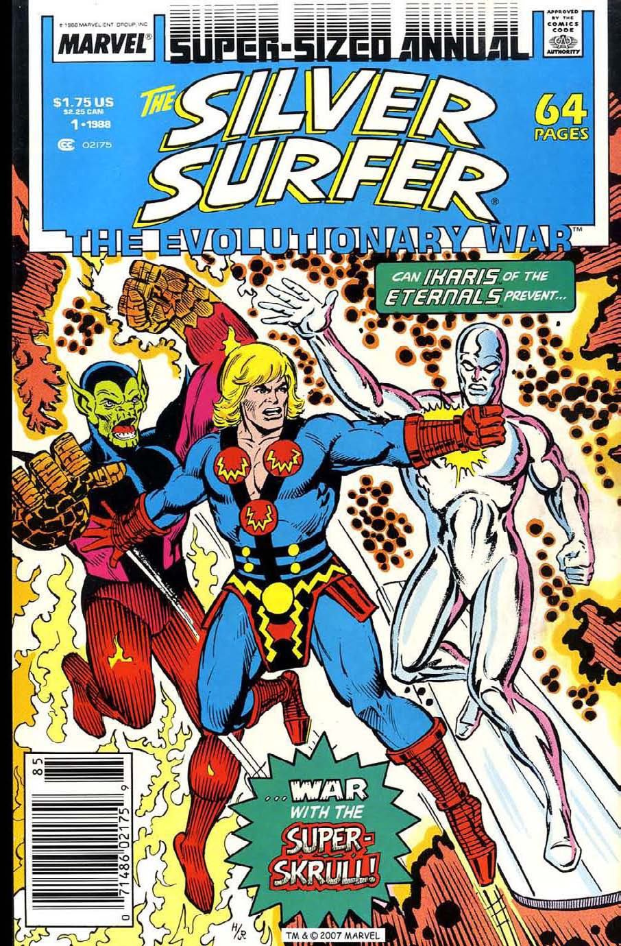 Read online Silver Surfer (1987) comic -  Issue # _Annual 1 - 1