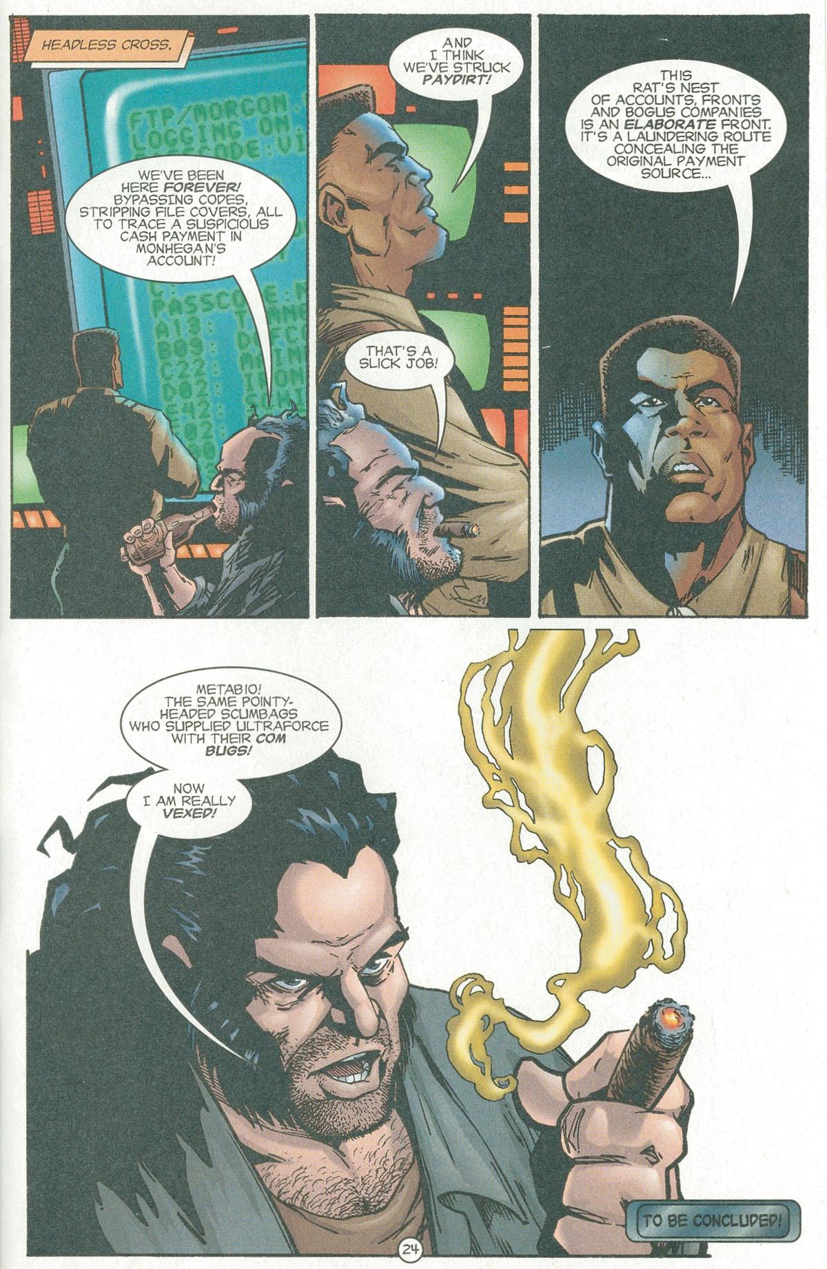 Read online UltraForce (1995) comic -  Issue #6 - 27