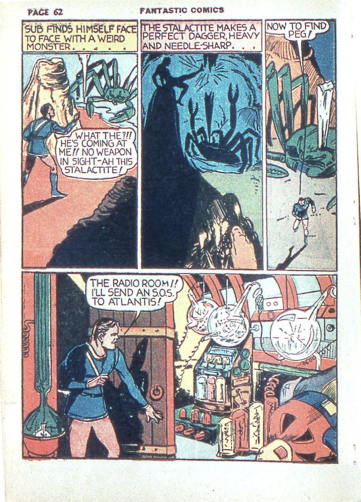Read online Fantastic Comics comic -  Issue #3 - 64