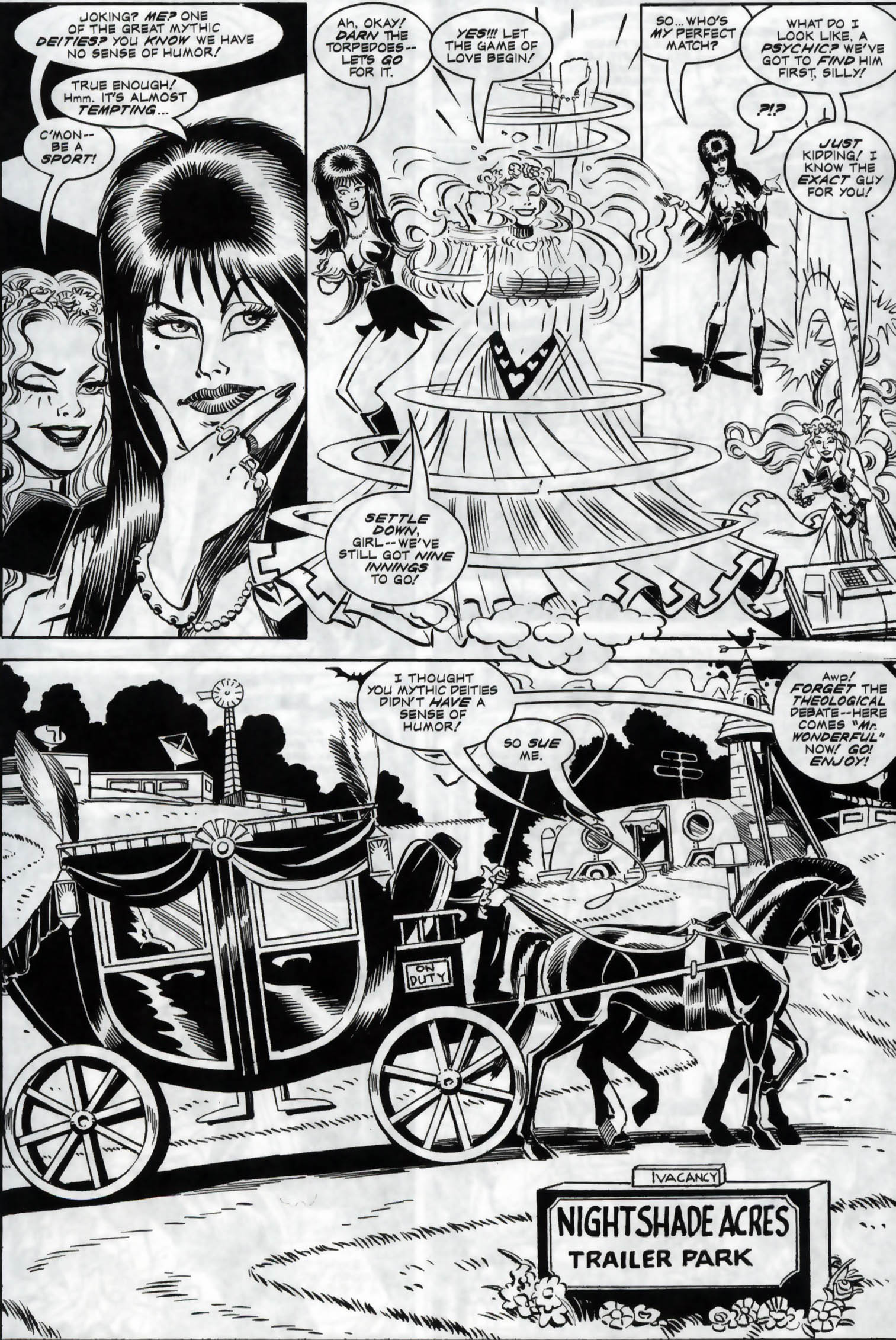 Read online Elvira, Mistress of the Dark comic -  Issue #118 - 9