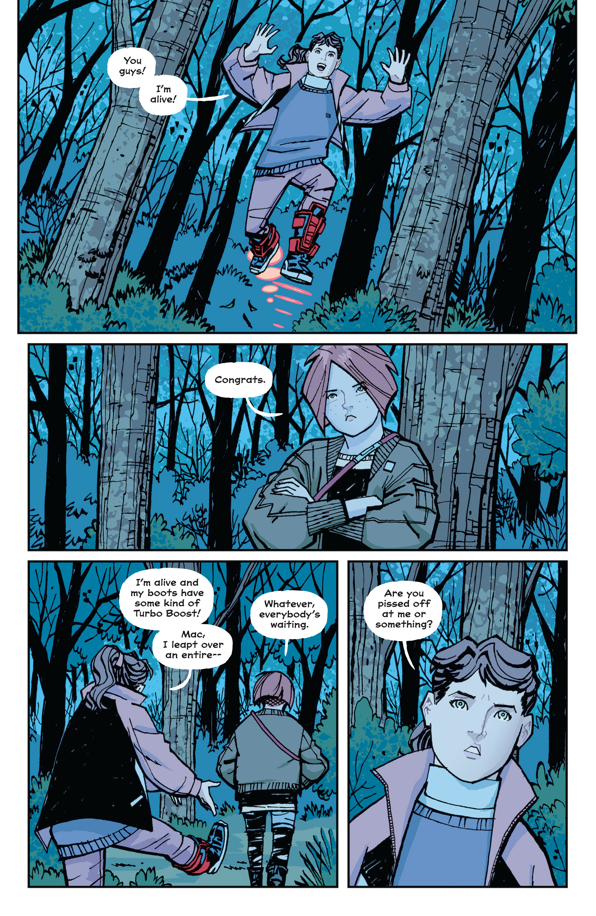 Read online Paper Girls comic -  Issue #15 - 5