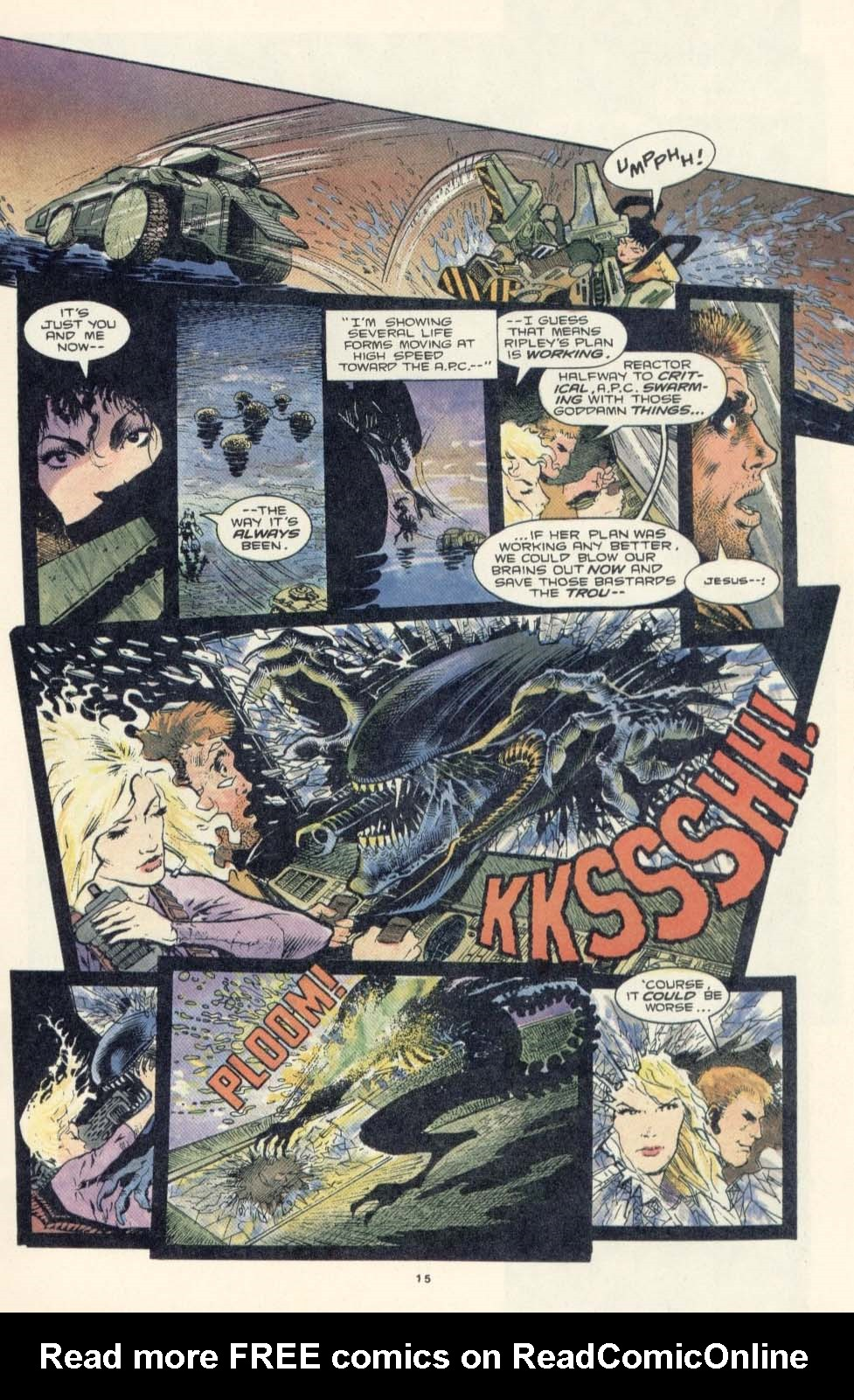 Read online Aliens: Earth War comic -  Issue #3 - 17