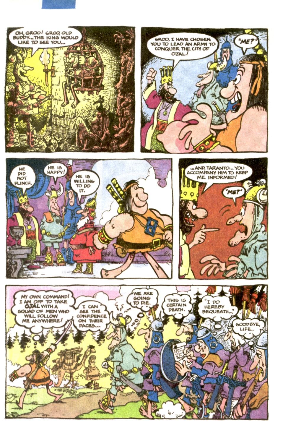 Read online Sergio Aragonés Groo the Wanderer comic -  Issue #1 - 14