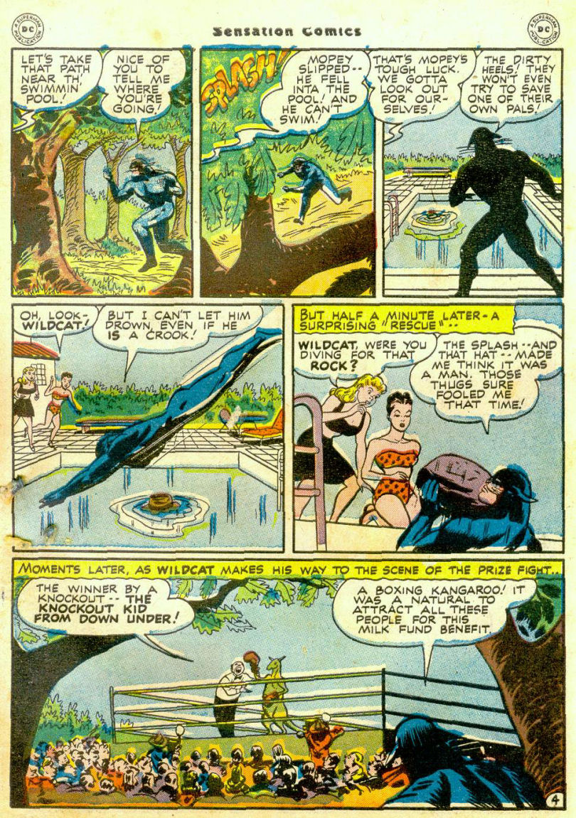 Read online Sensation (Mystery) Comics comic -  Issue #65 - 44