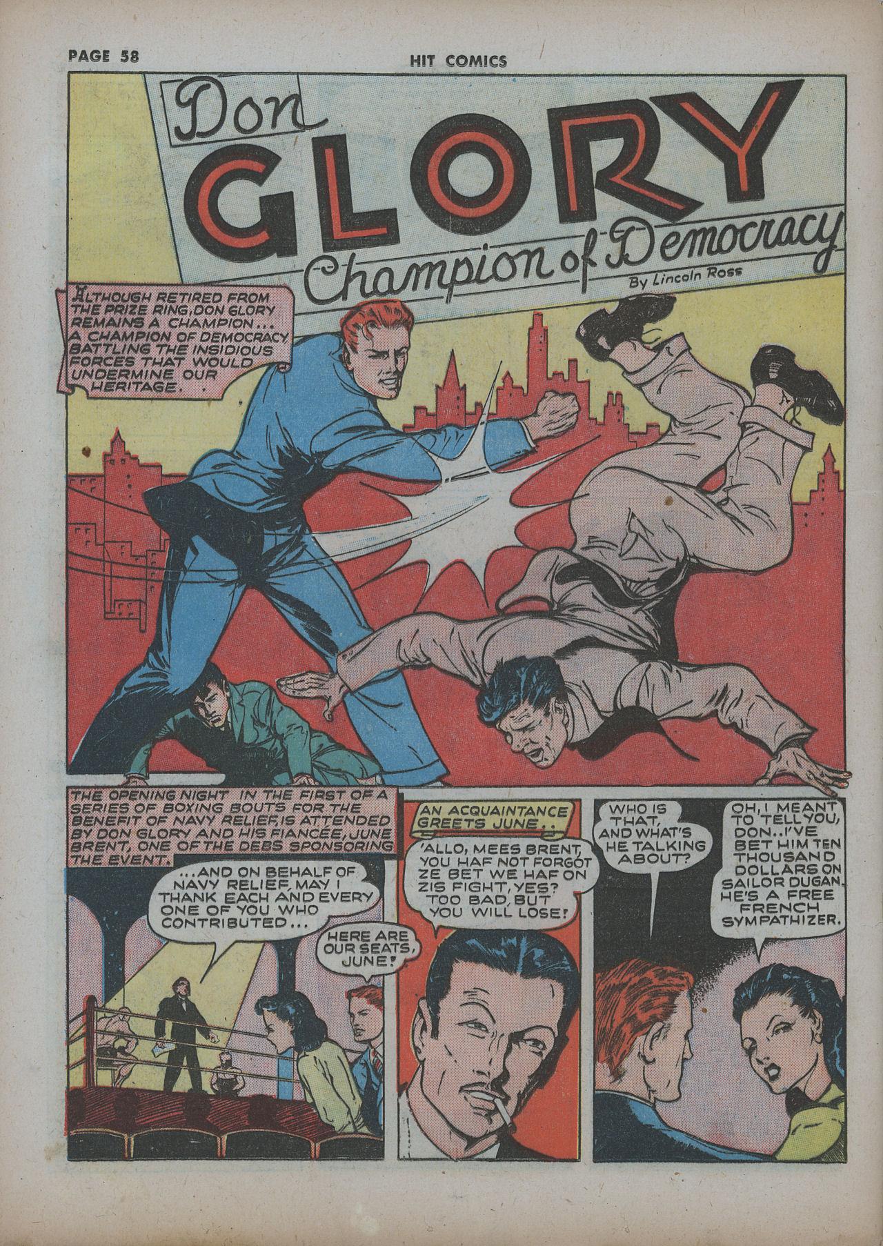 Read online Hit Comics comic -  Issue #22 - 60