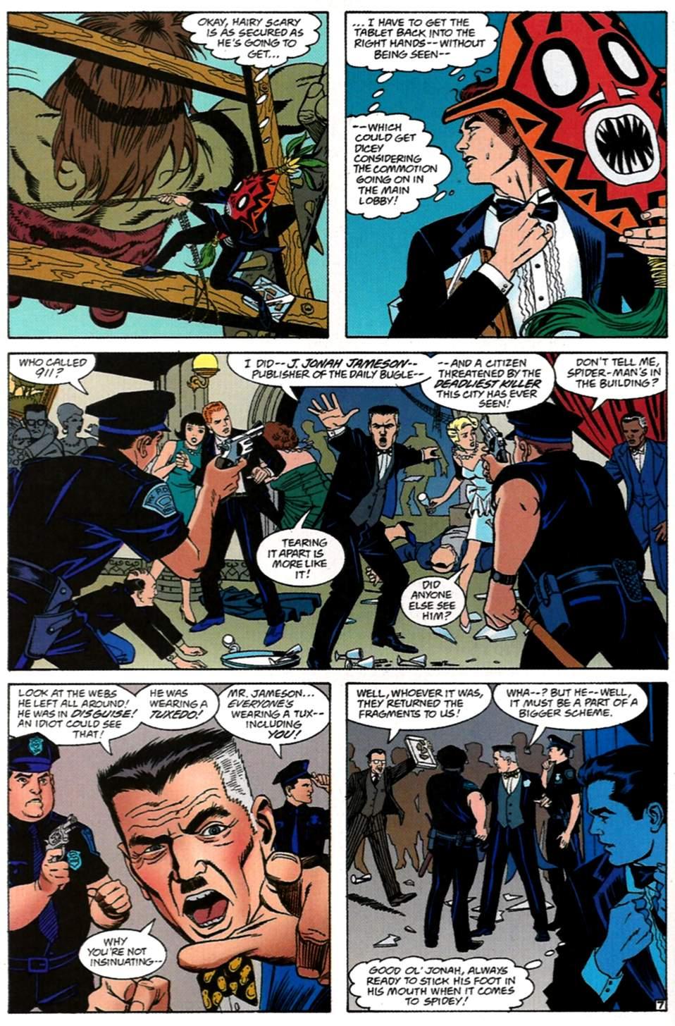 Read online Spider-Man: Lifeline comic -  Issue #1 - 8