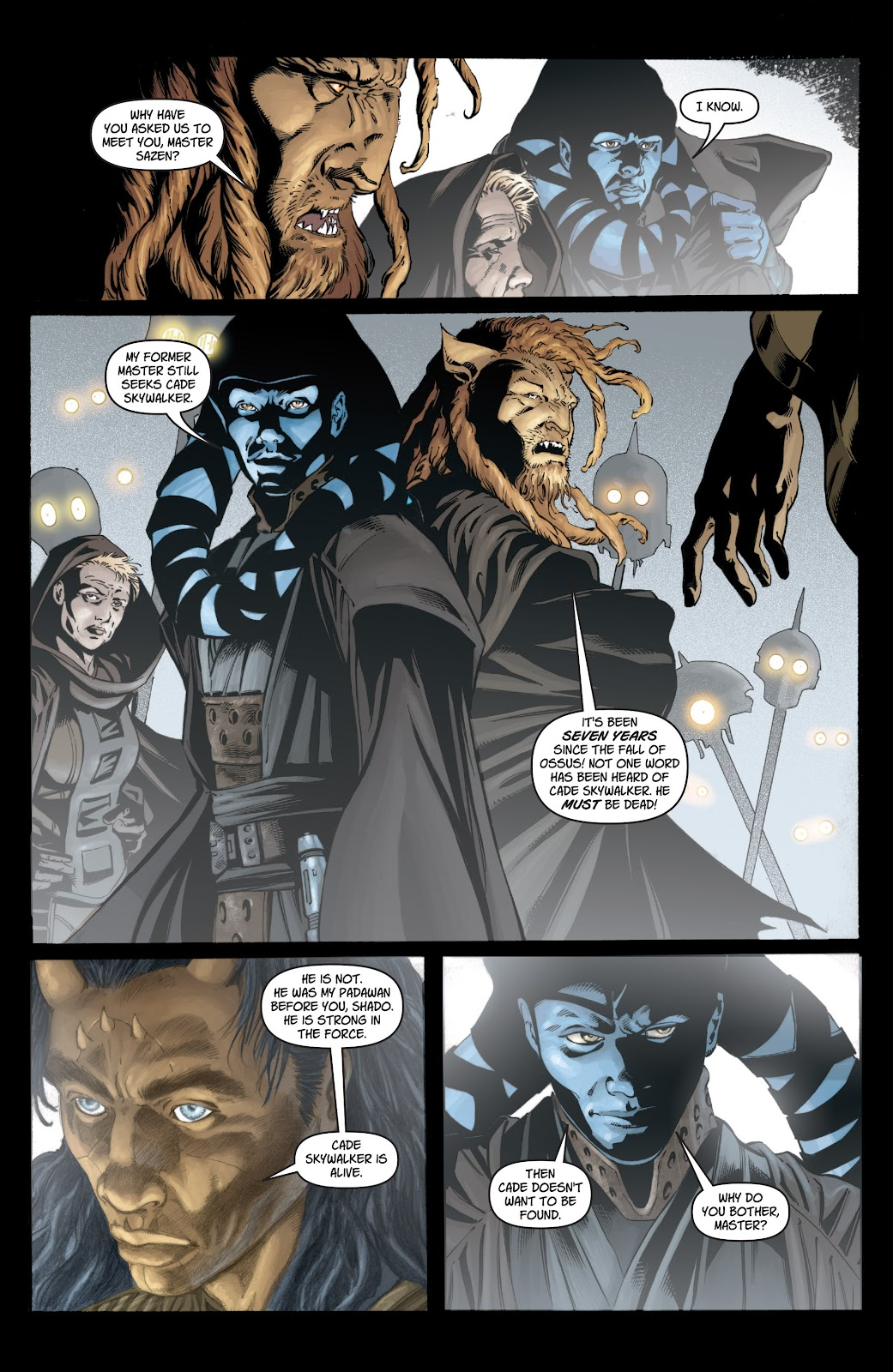 Read online Star Wars Legends: Legacy - Epic Collection comic -  Issue # TPB 1 (Part 1) - 31