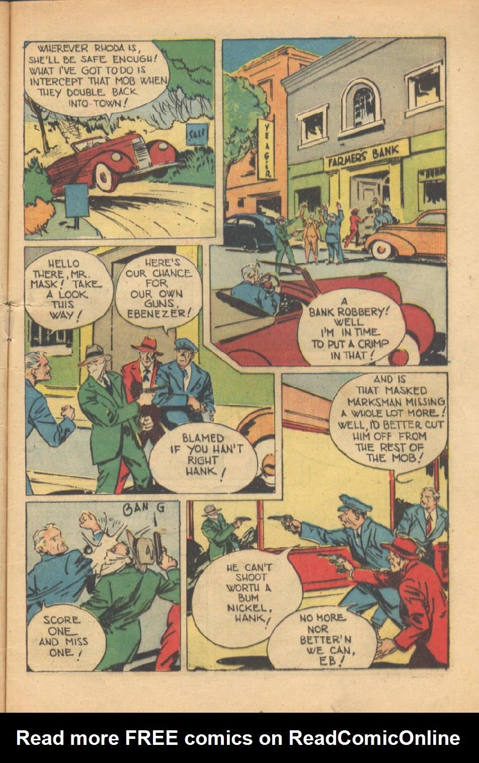 Read online Super-Magician Comics comic -  Issue #37 - 10