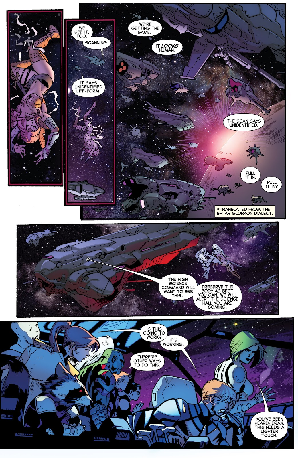 Guardians of the Galaxy/All-New X-Men: The Trial of Jean Grey issue TPB - Page 84