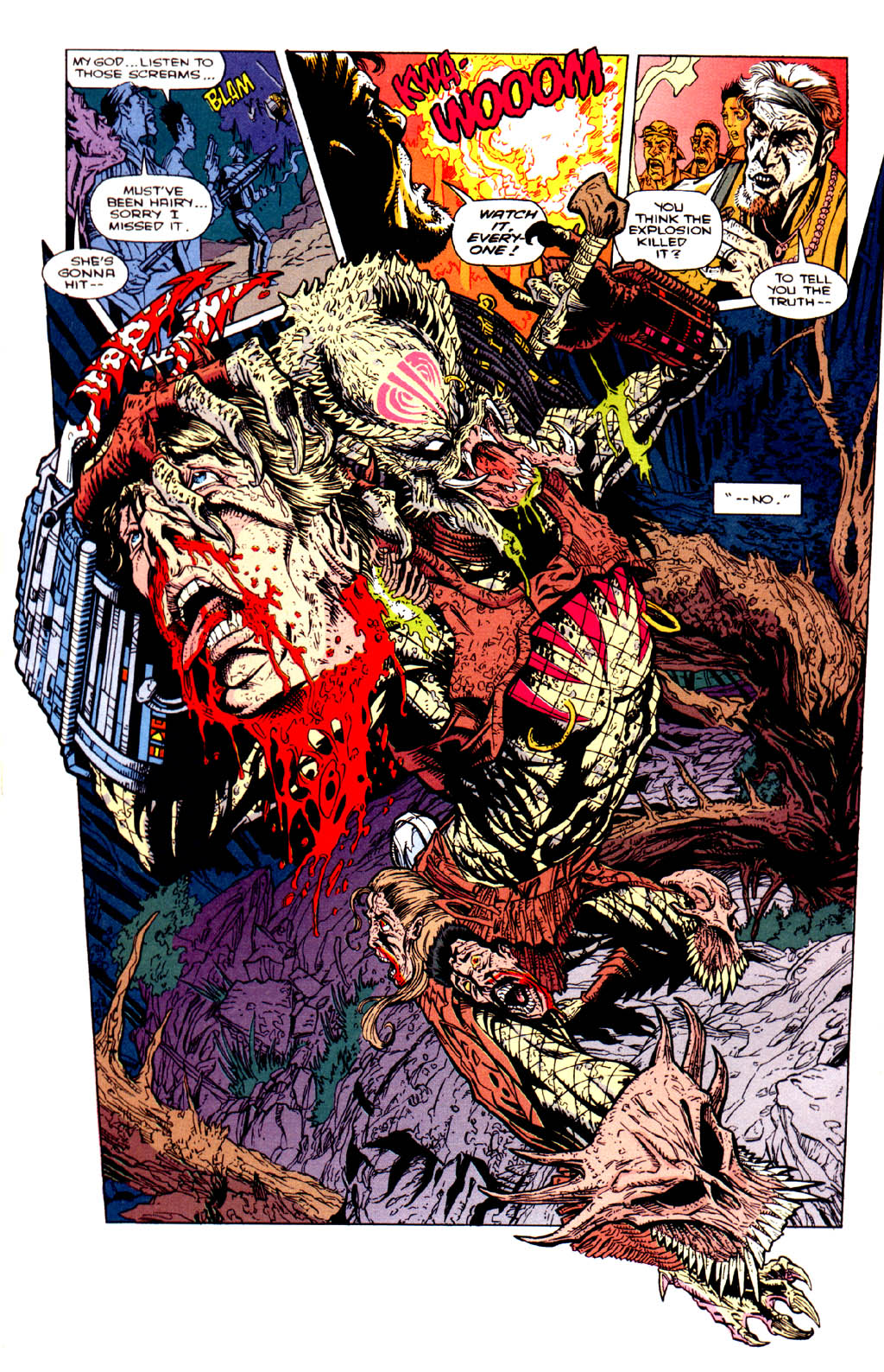 Predator: Bad Blood #4 - Read Predator: Bad Blood Issue #4