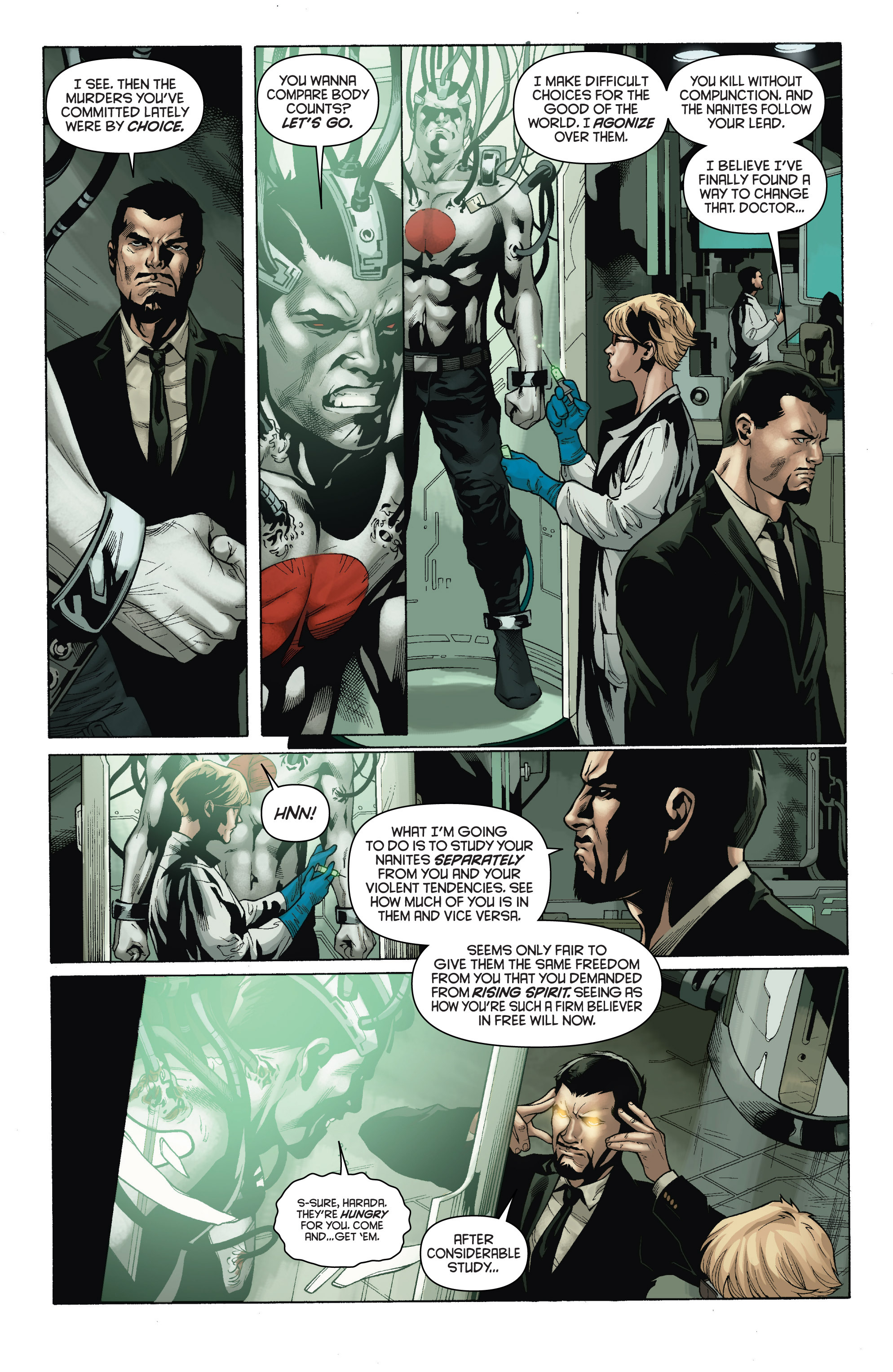 Read online Bloodshot and H.A.R.D.Corps comic -  Issue # TPB 4 - 9
