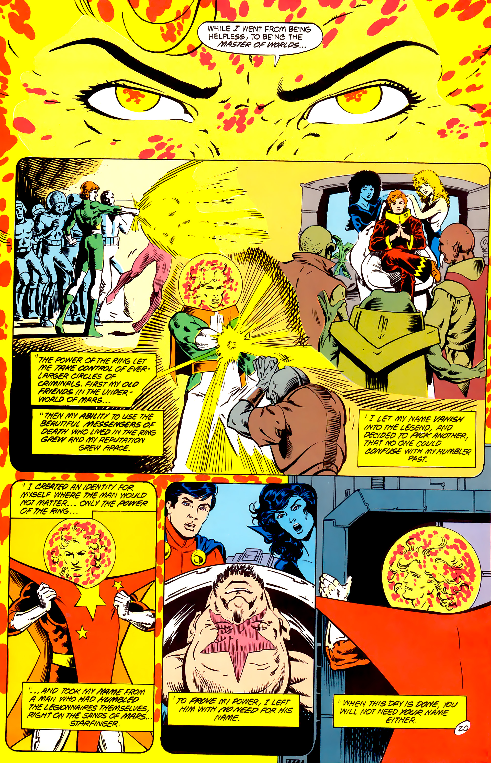 Legion of Super-Heroes (1984) _Annual_4 Page 20