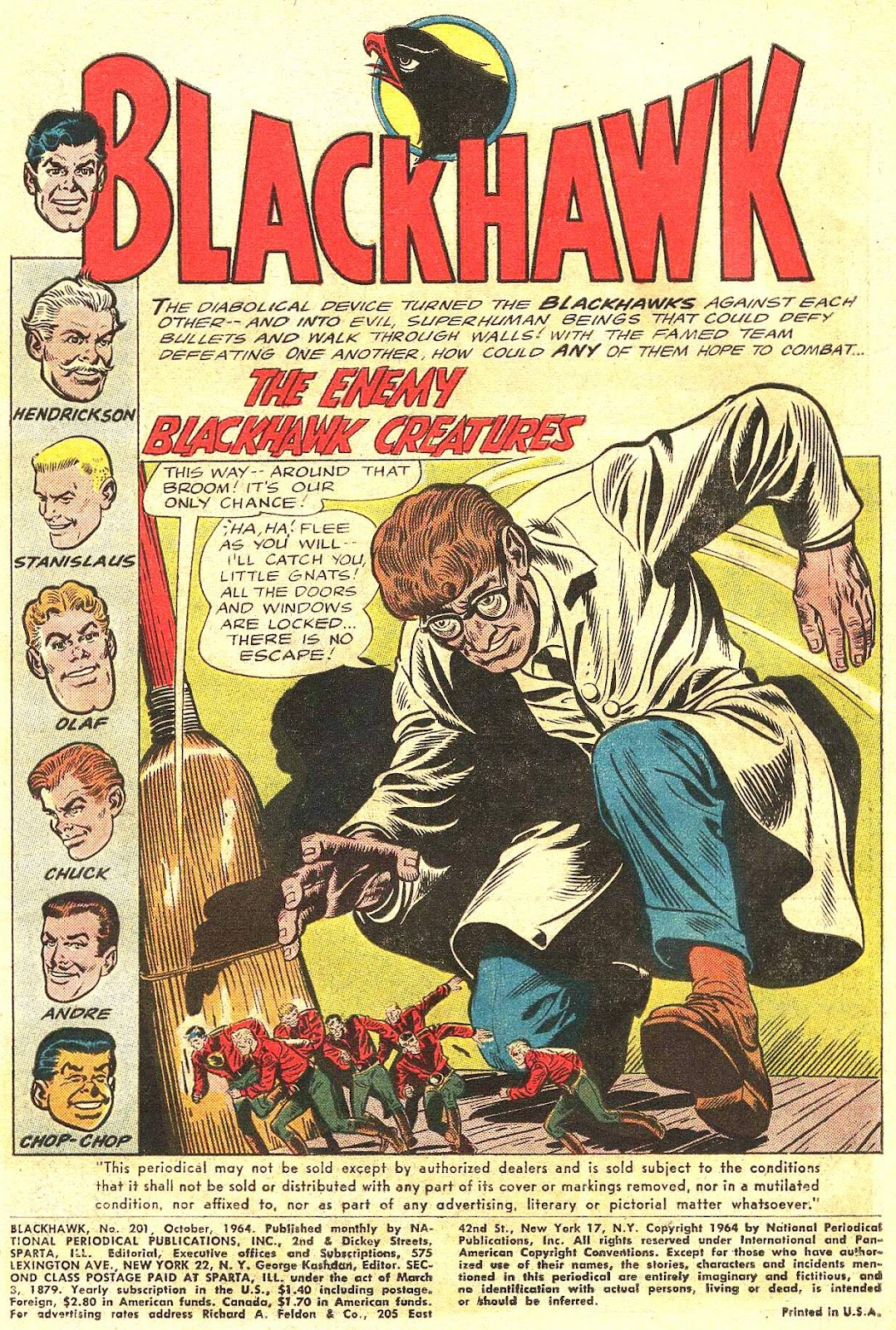 Blackhawk (1957) Issue #201 #94 - English 4