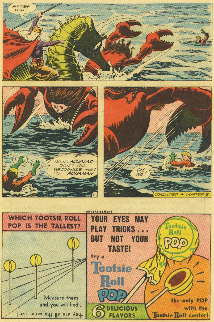 Read online Aquaman (1962) comic -  Issue #9 - 19