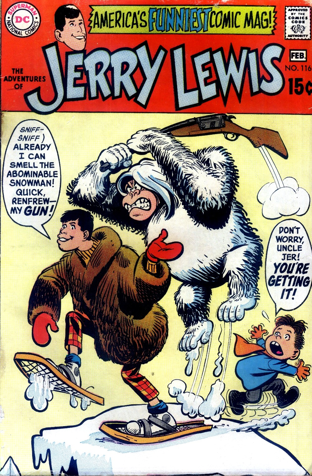 The Adventures of Jerry Lewis issue 116 - Page 1