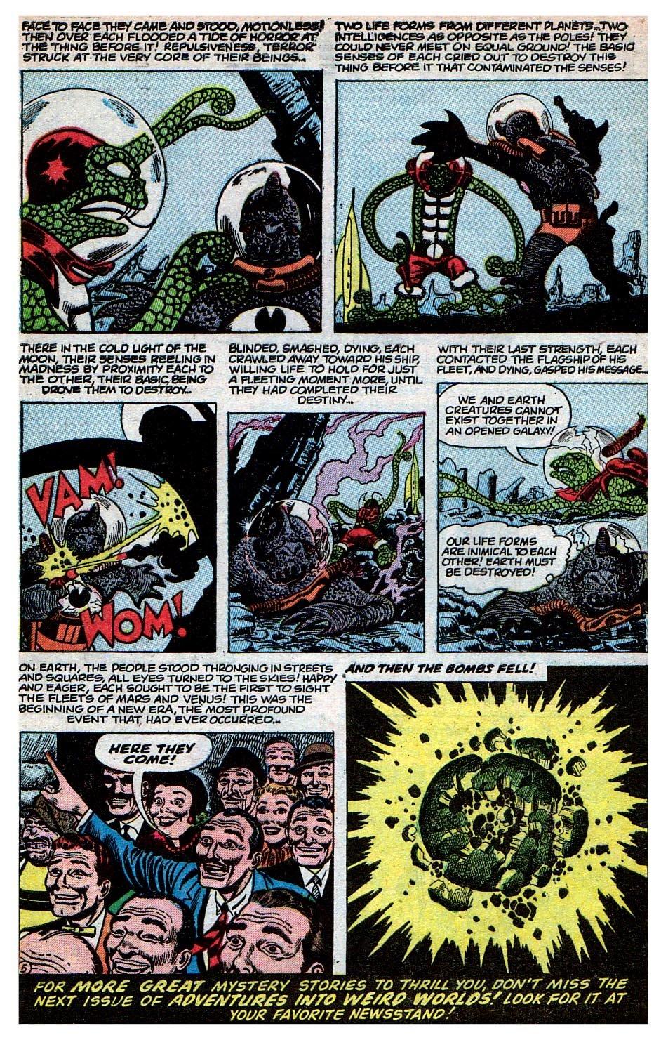 Read online Adventures into Weird Worlds comic -  Issue #30 - 24