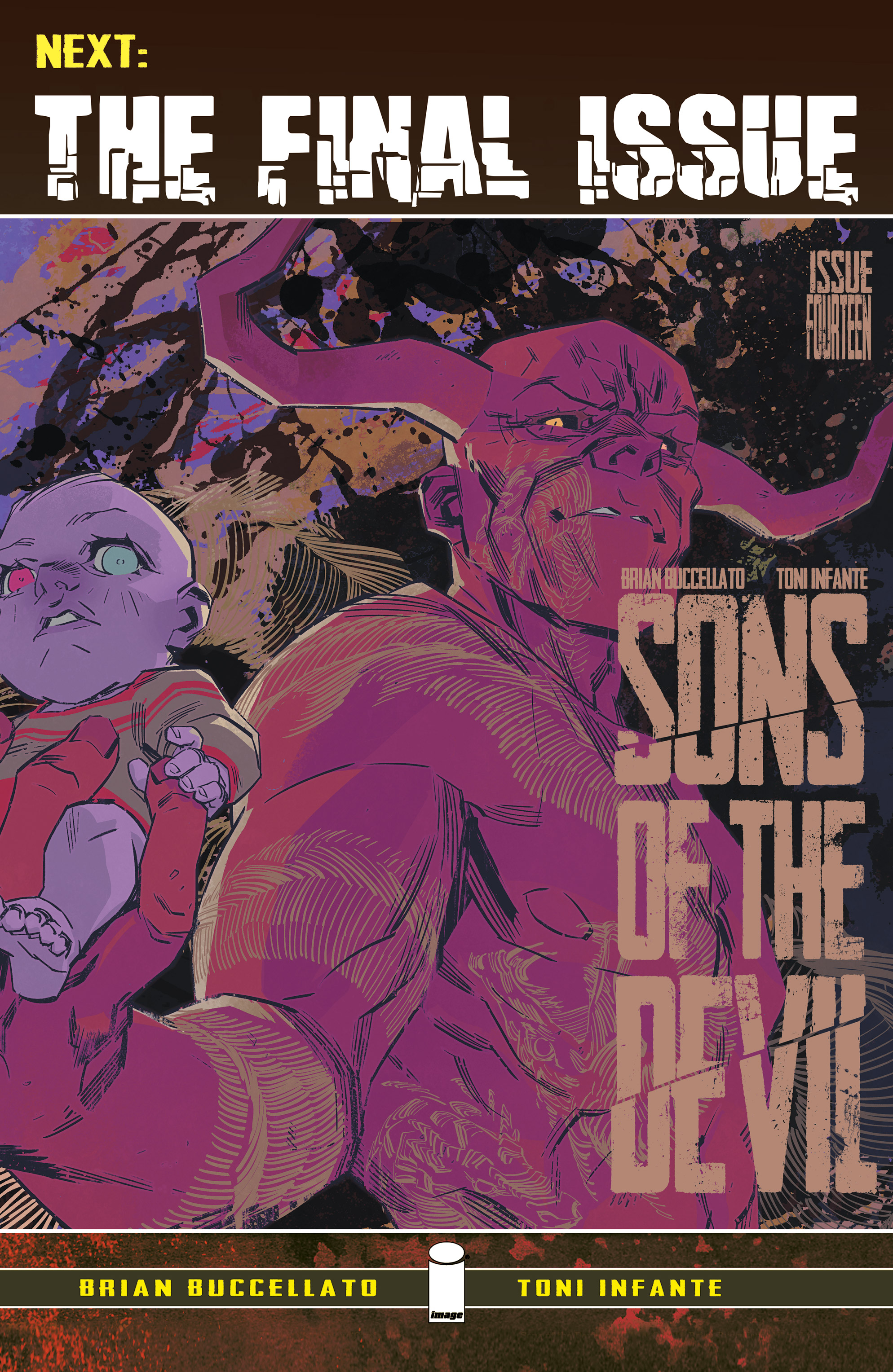 Read online Sons of the Devil comic -  Issue #13 - 23
