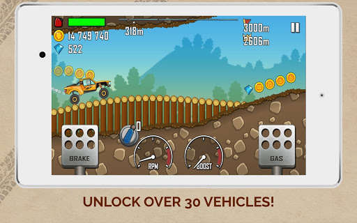 Hill Climb Racing Mod Cho Android