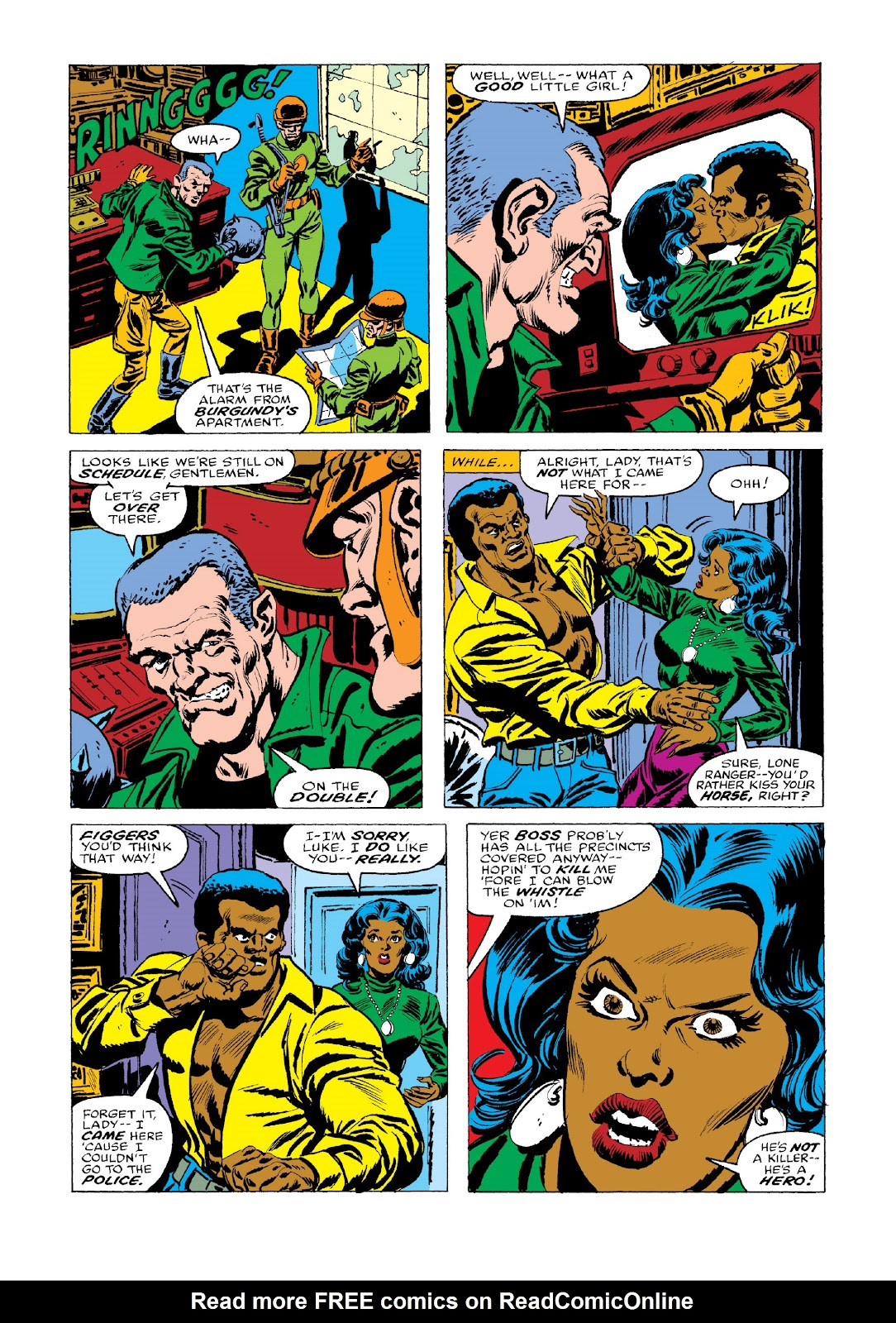 Read online Marvel Masterworks: Luke Cage, Power Man comic -  Issue # TPB 3 (Part 3) - 55