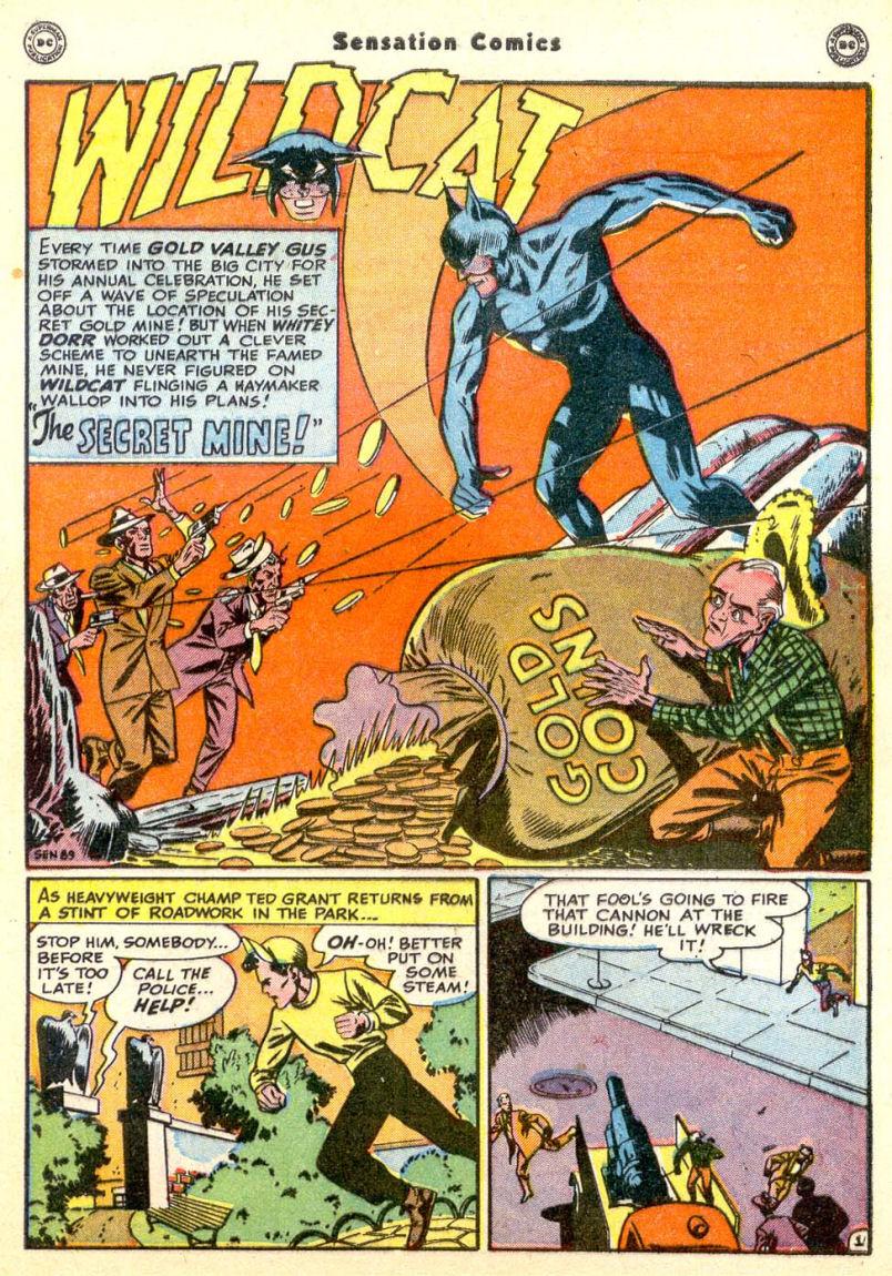 Read online Sensation (Mystery) Comics comic -  Issue #85 - 42