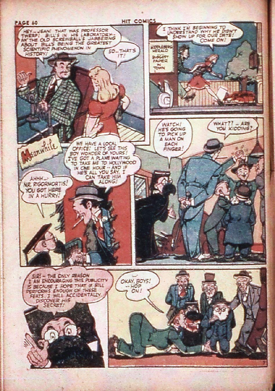 Read online Hit Comics comic -  Issue #29 - 62
