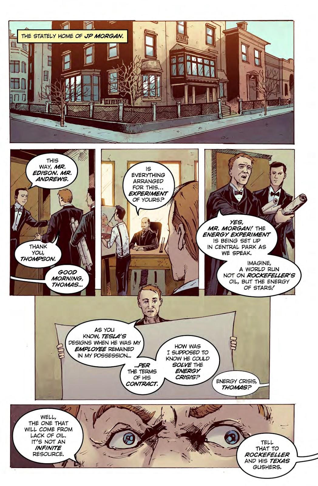 Read online American Dreams comic -  Issue #1 - 6