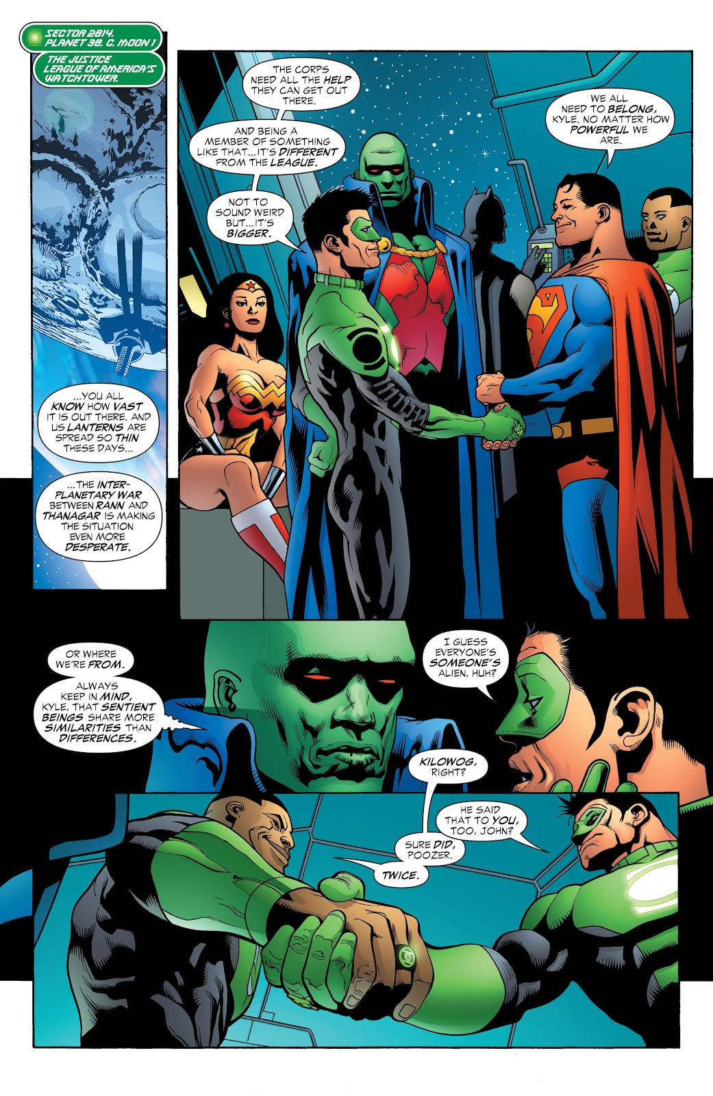 Read online Green Lantern by Geoff Johns comic -  Issue # TPB 1 (Part 2) - 84