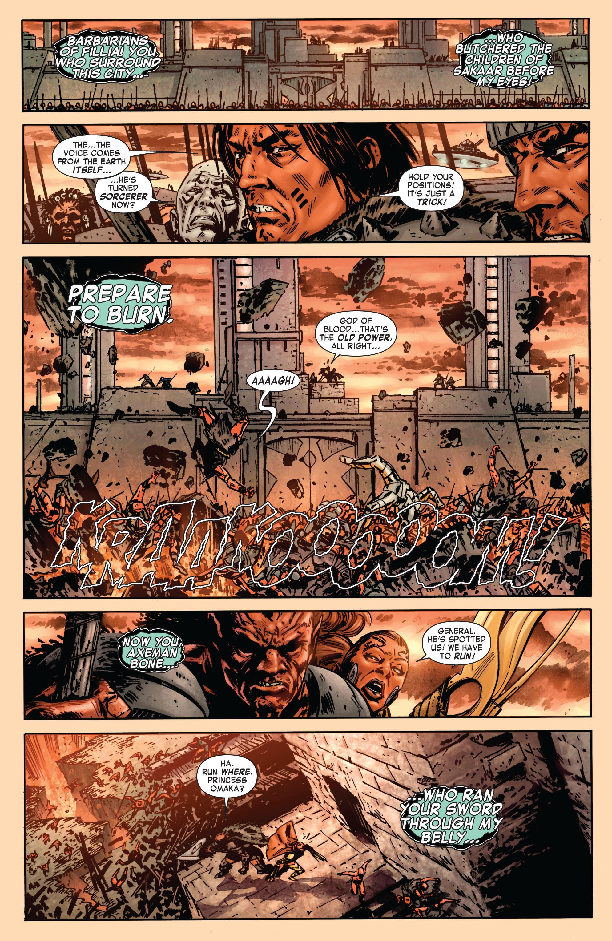 Read online Skaar: Son of Hulk comic -  Issue #7 - 9