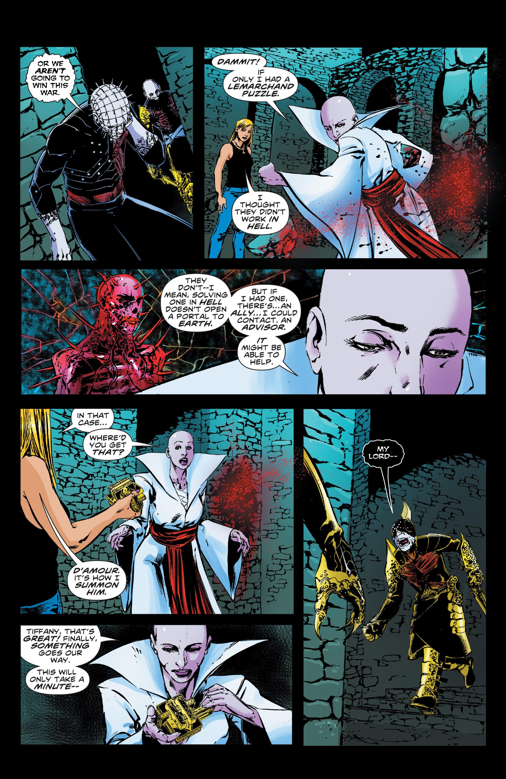 Read online Clive Barker's Hellraiser: The Dark Watch comic -  Issue # TPB 3 - 85