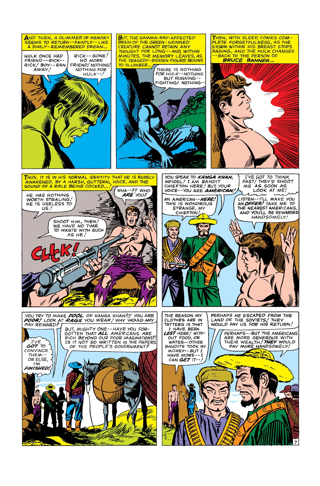 Read online Marvel Masterworks: The Incredible Hulk comic -  Issue # TPB 2 (Part 2) - 8