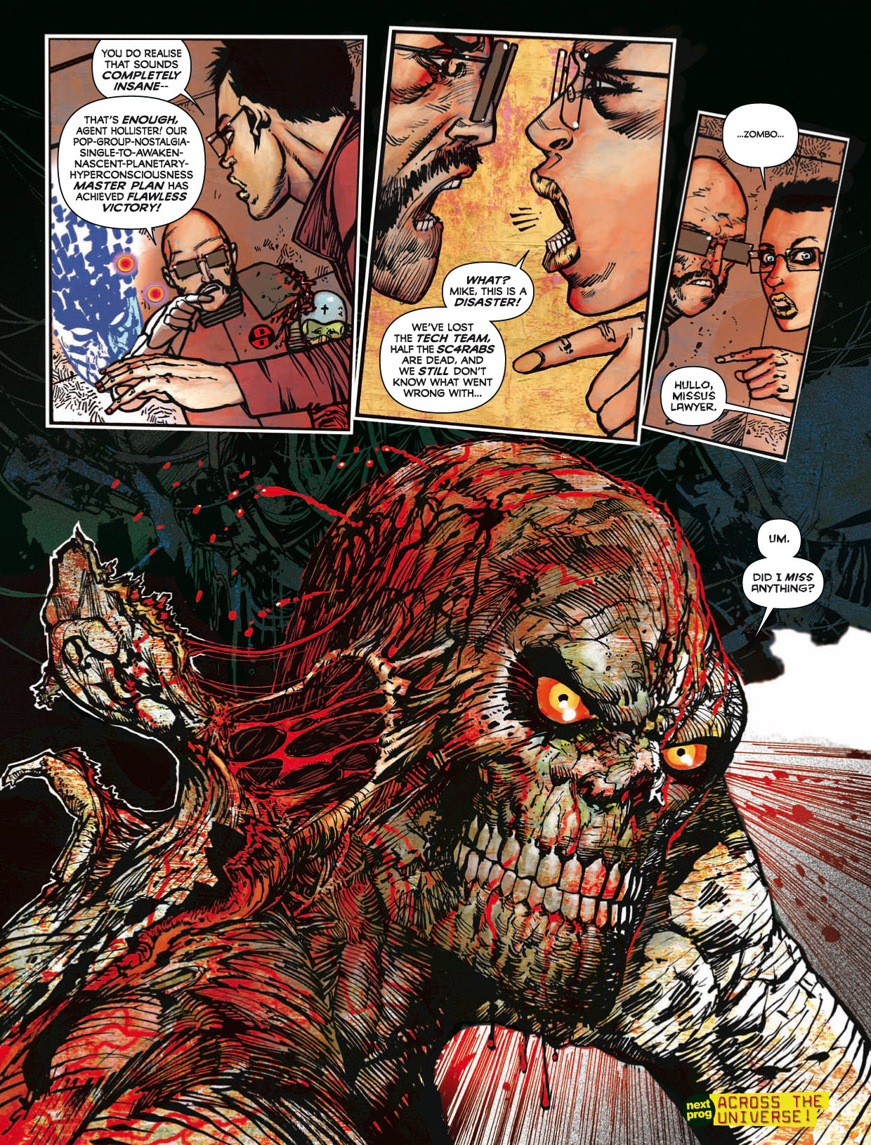 Read online 2000 AD comic -  Issue #1746 - 166
