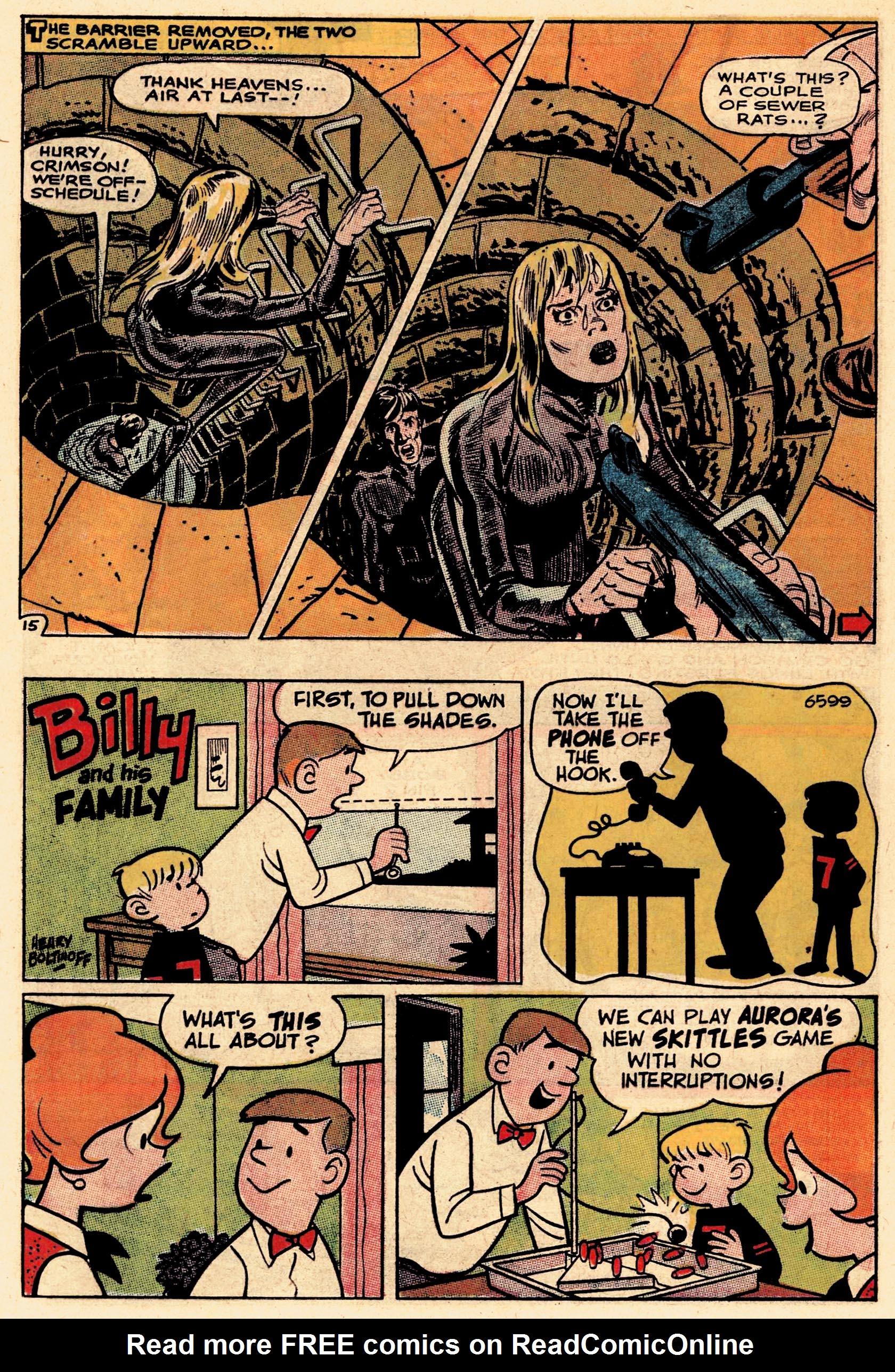 Read online Secret Six (1968) comic -  Issue #1 - 20