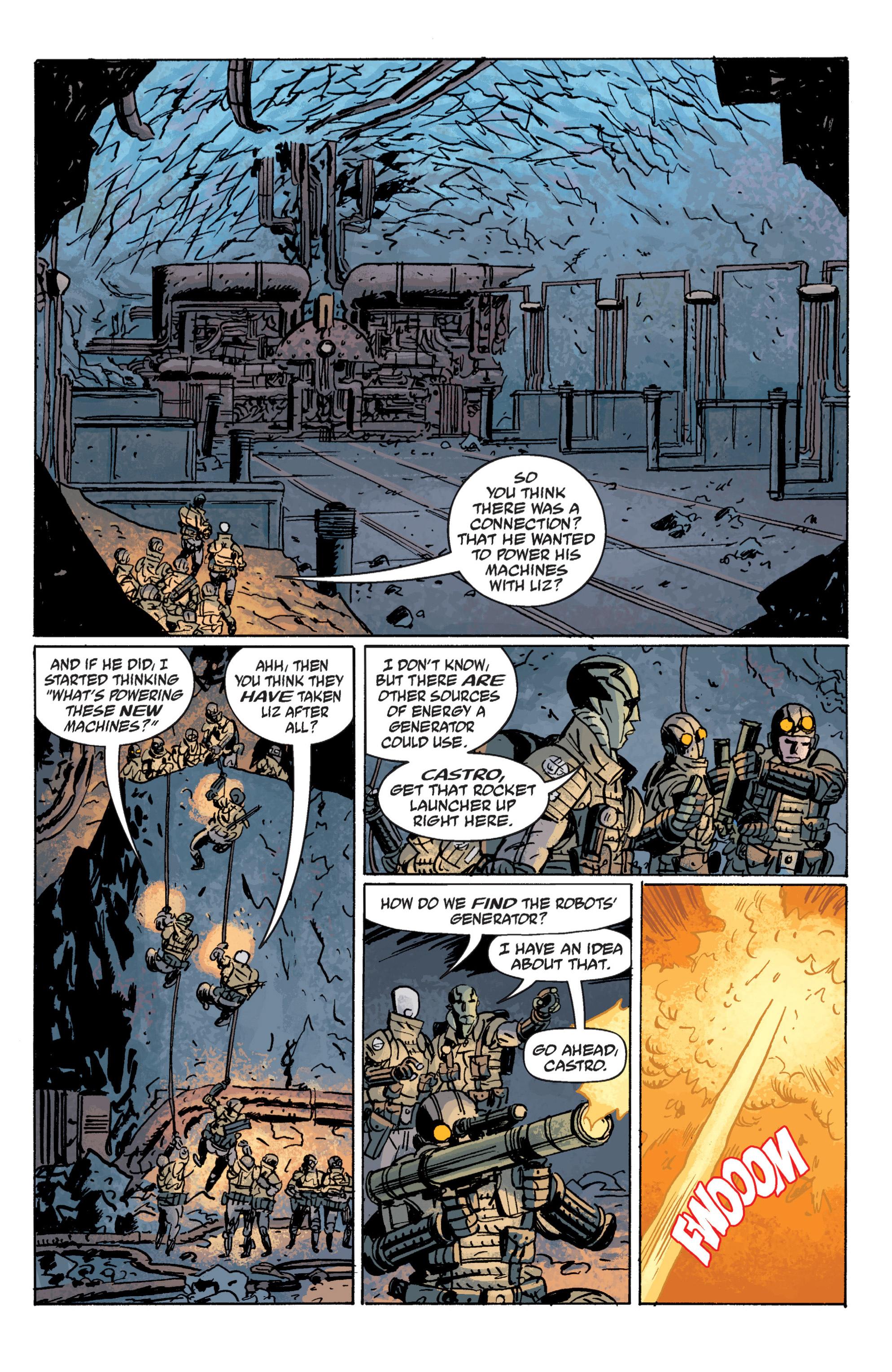 Read online B.P.R.D. (2003) comic -  Issue # TPB 10 - 100