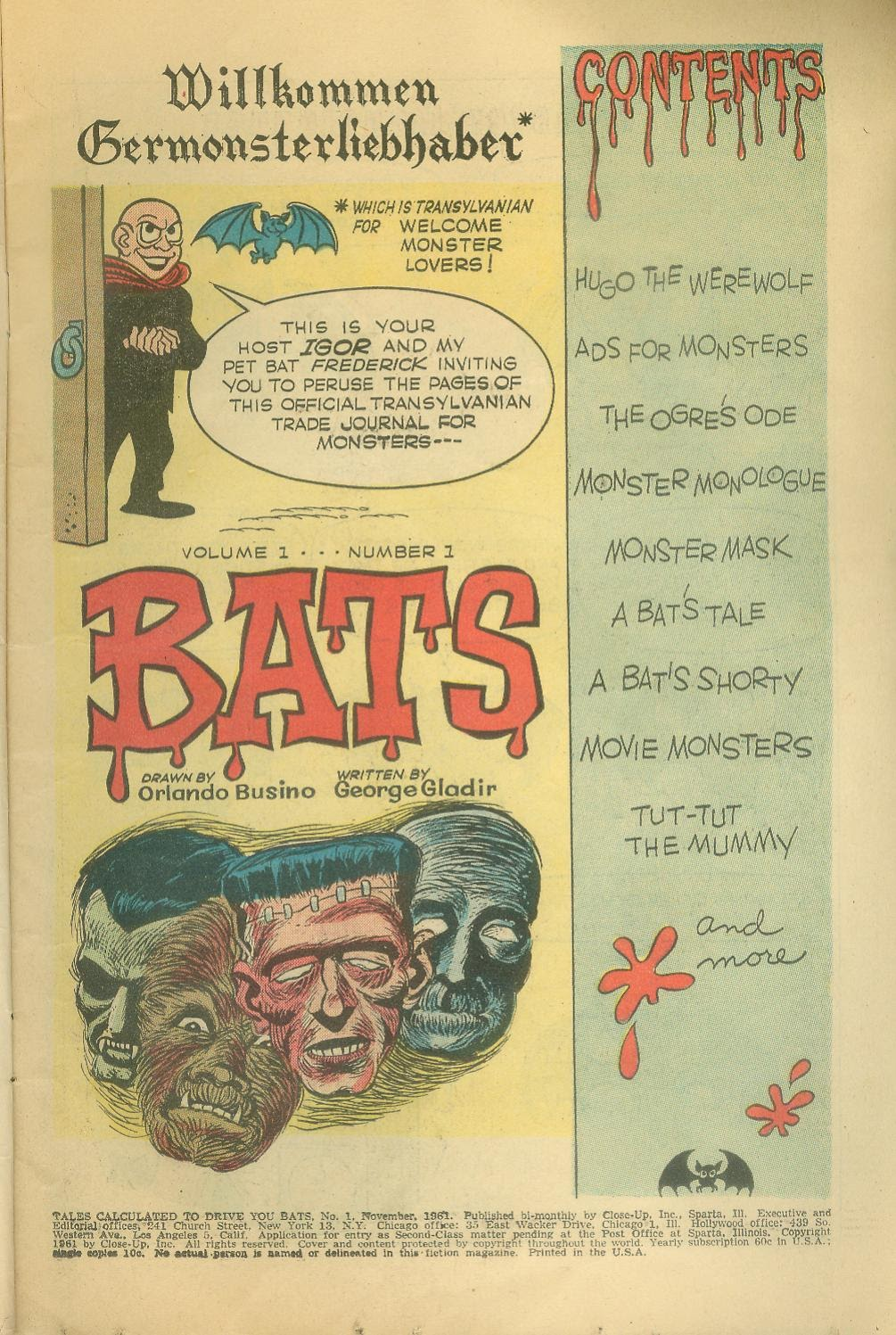 Read online Tales Calculated to Drive You Bats comic -  Issue #1 - 3