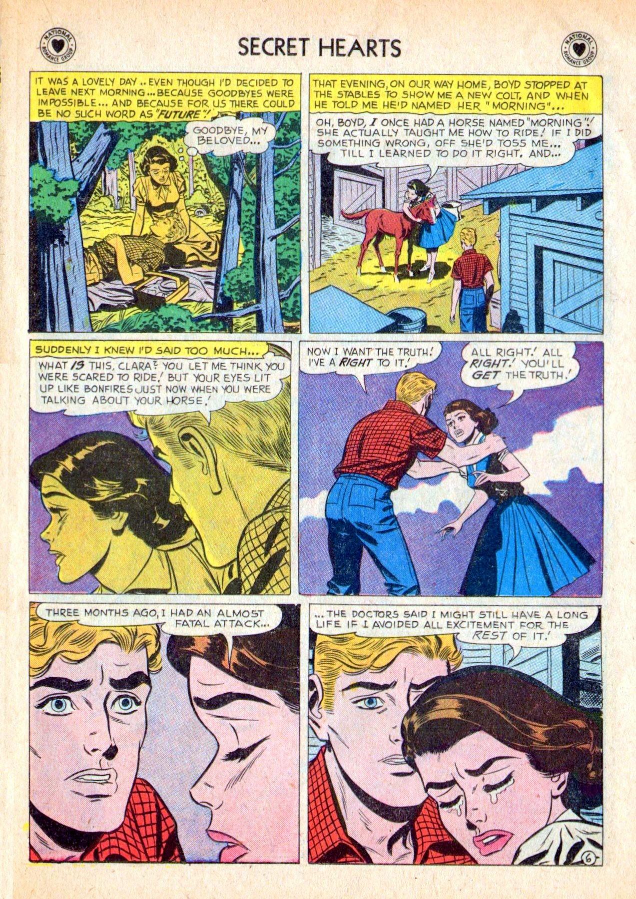 Read online Secret Hearts comic -  Issue #53 - 15