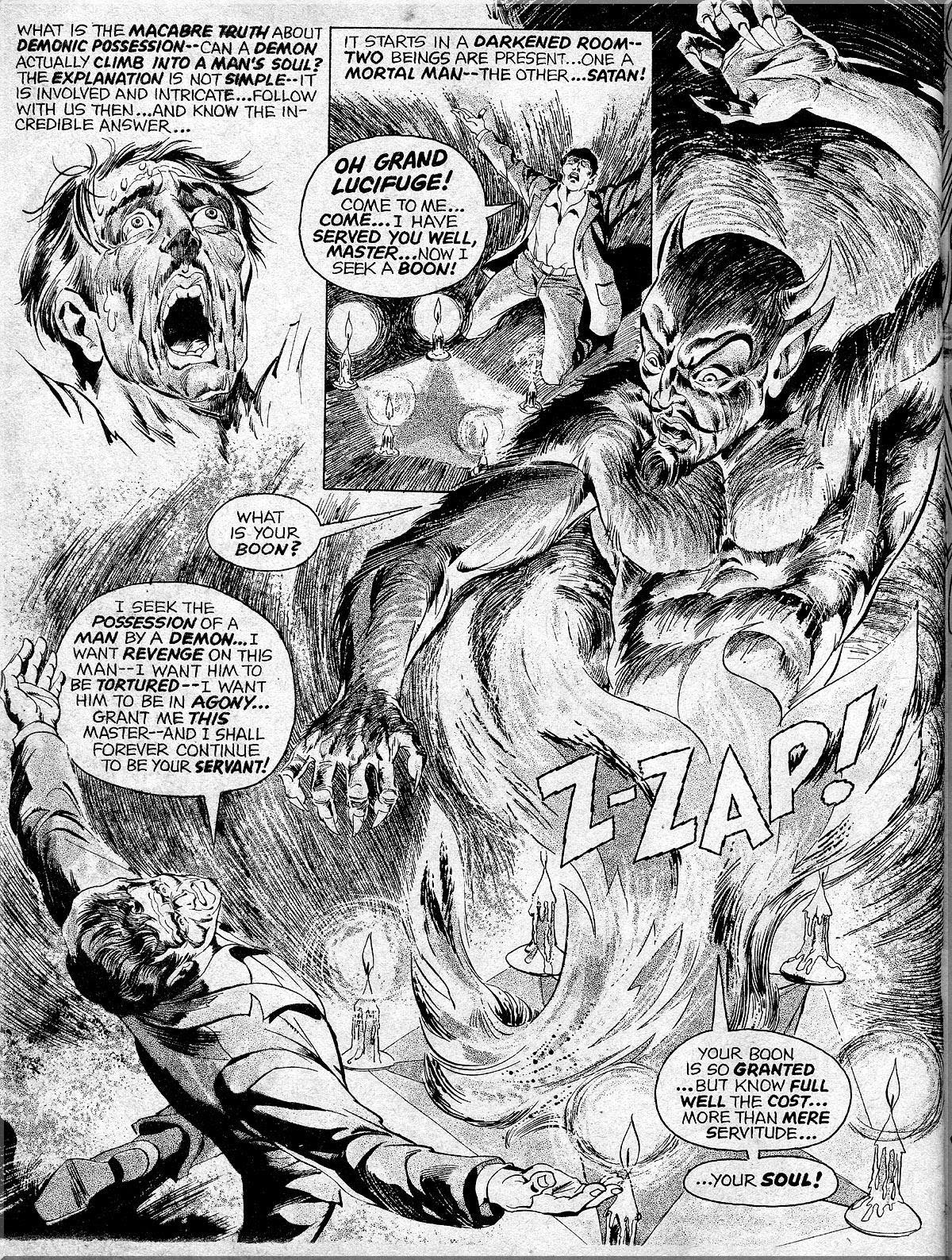 Nightmare (1970) issue 10 - Page 38