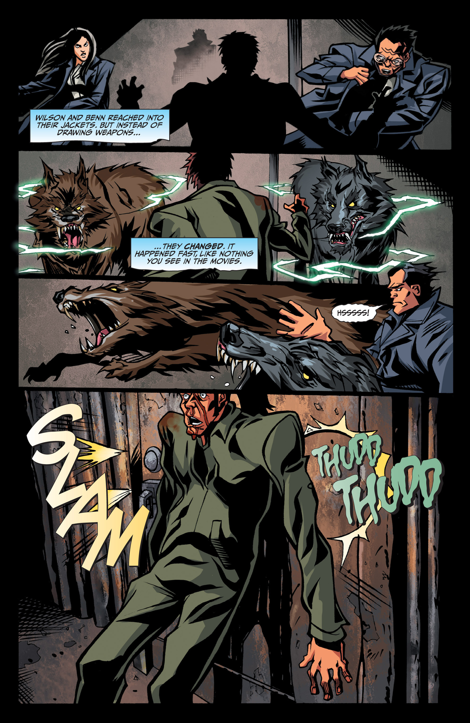 Read online Jim Butcher's The Dresden Files: Fool Moon comic -  Issue #7 - 7