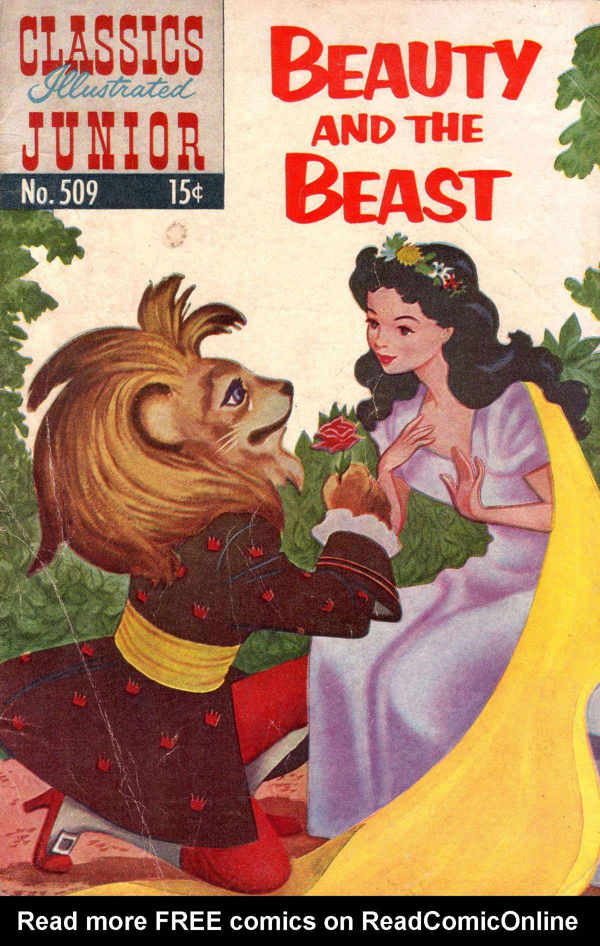 Classics Illustrated Junior 509 Page 1