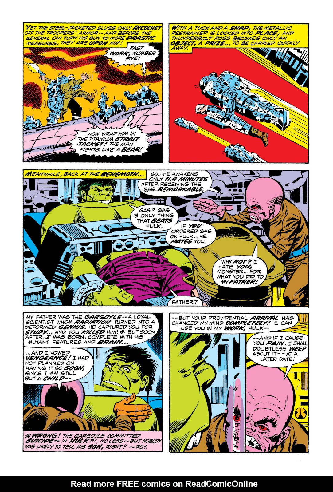 Read online Marvel Masterworks: The Incredible Hulk comic -  Issue # TPB 9 (Part 2) - 48