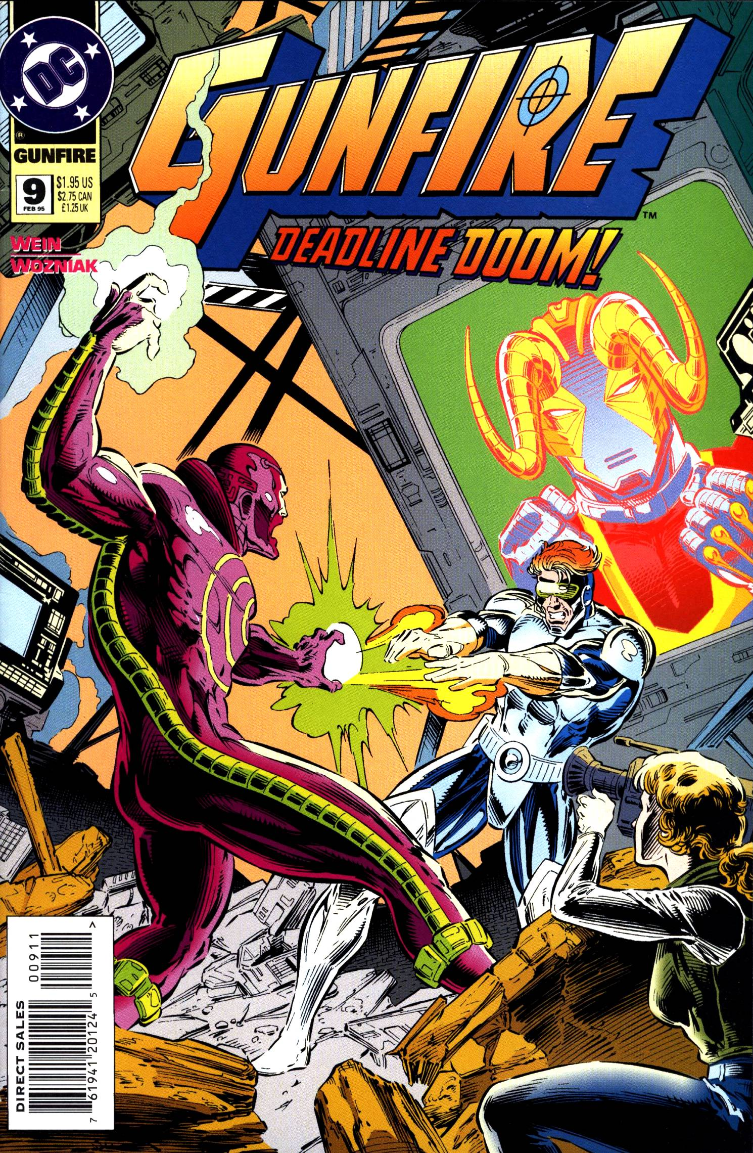 Read online Gunfire comic -  Issue #9 - 1