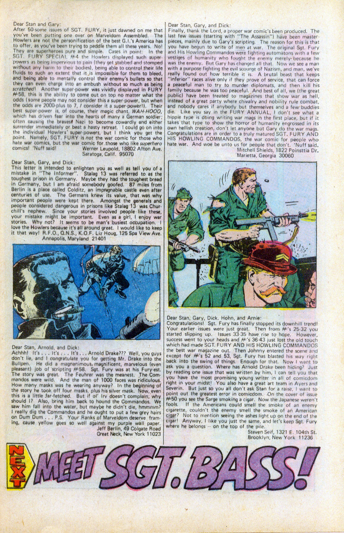 Read online Sgt. Fury comic -  Issue #61 - 33