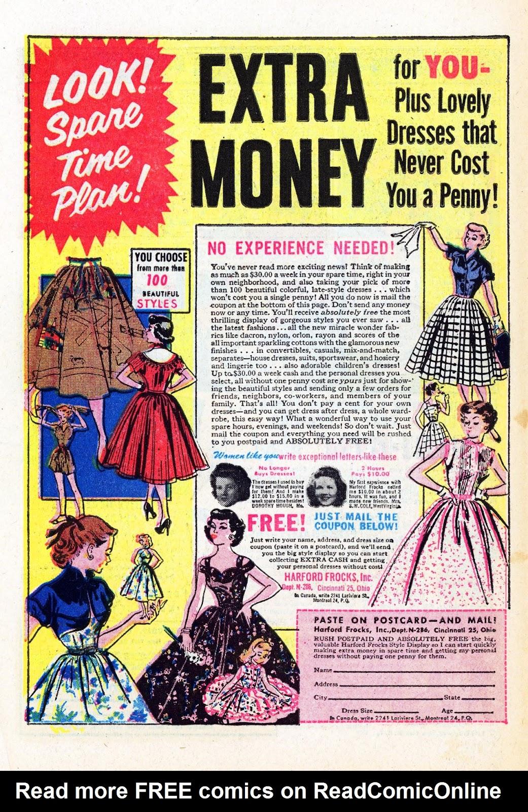 Read online Patsy Walker comic -  Issue #58 - 34