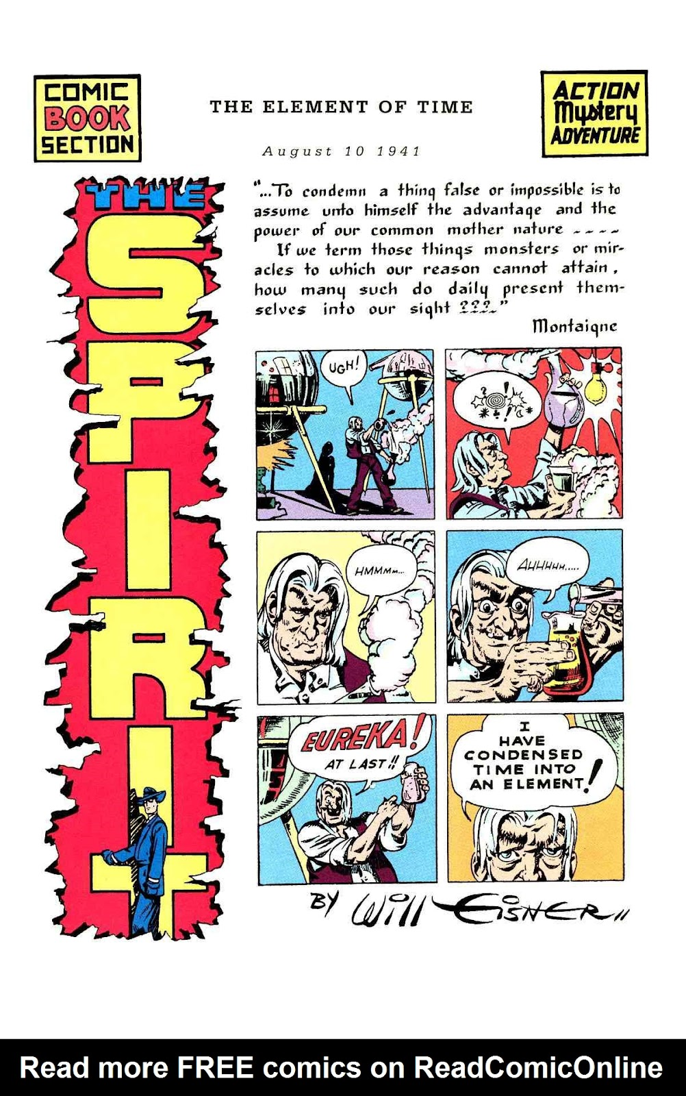 Read online Will Eisner's The Spirit Archives comic -  Issue # TPB 3 (Part 1) - 42