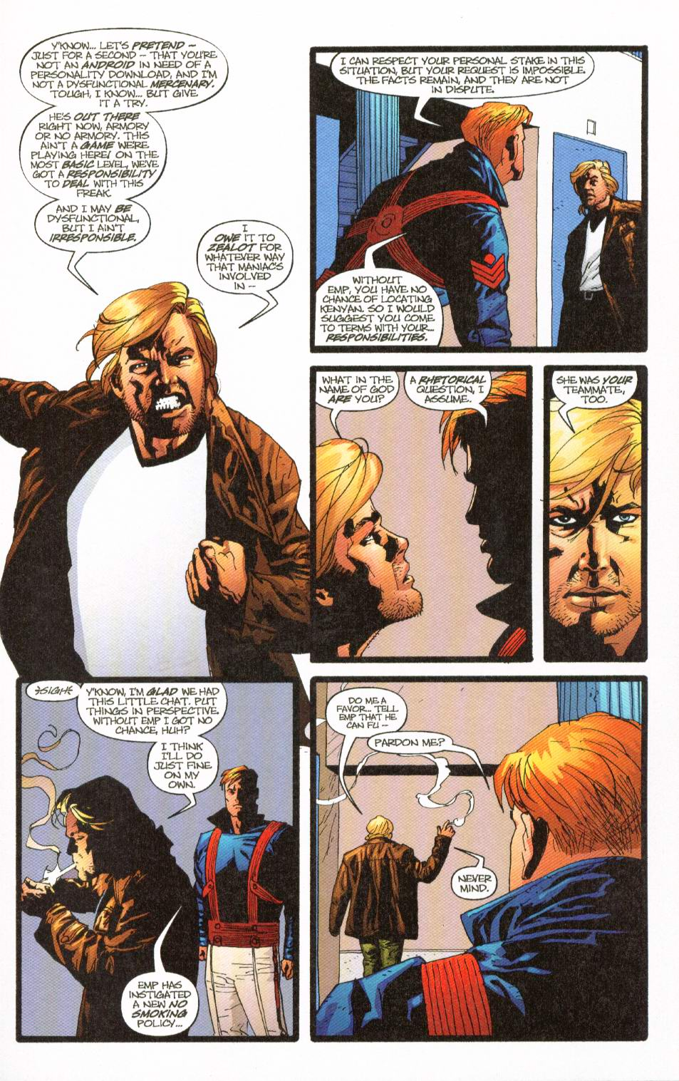 Wildcats (1999) Issue #8 #9 - English 6